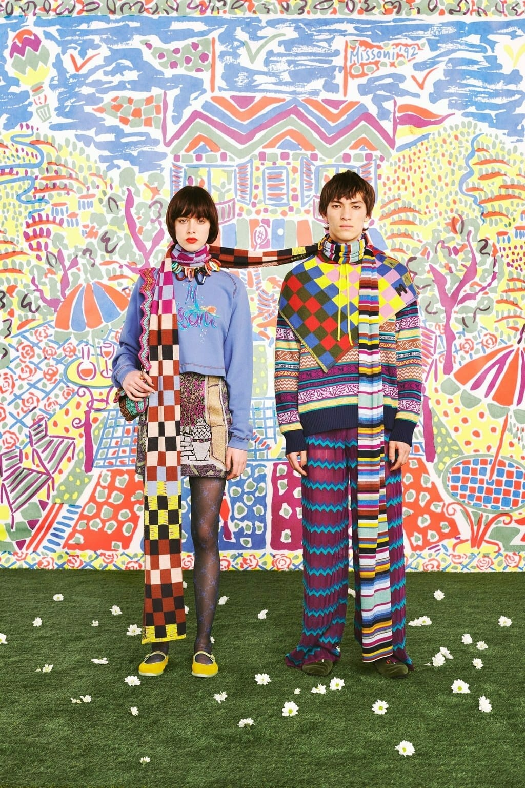 M Missoni Pre-Fall 2020 Milan. RUNWAY MAGAZINE ® Collections. RUNWAY NOW / RUNWAY NEW