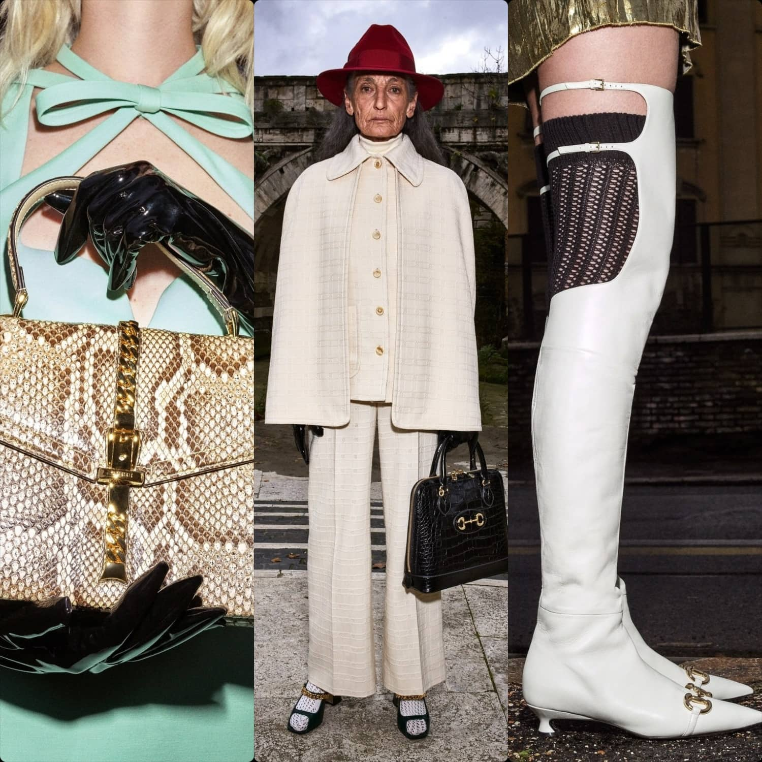 Gucci Pre-Fall 2020 Milan. RUNWAY MAGAZINE ® Collections. RUNWAY NOW / RUNWAY NEW
