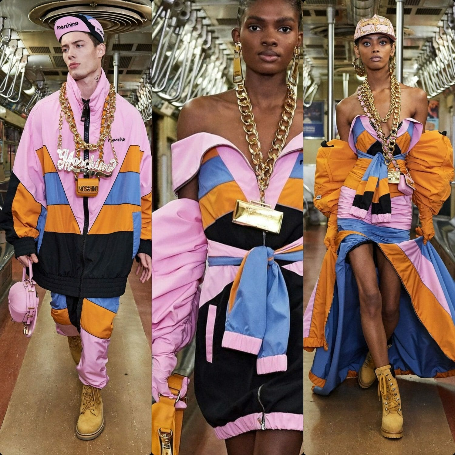 Moschino Pre-Fall 2020 New York. RUNWAY MAGAZINE ® Collections. RUNWAY NOW / RUNWAY NEW