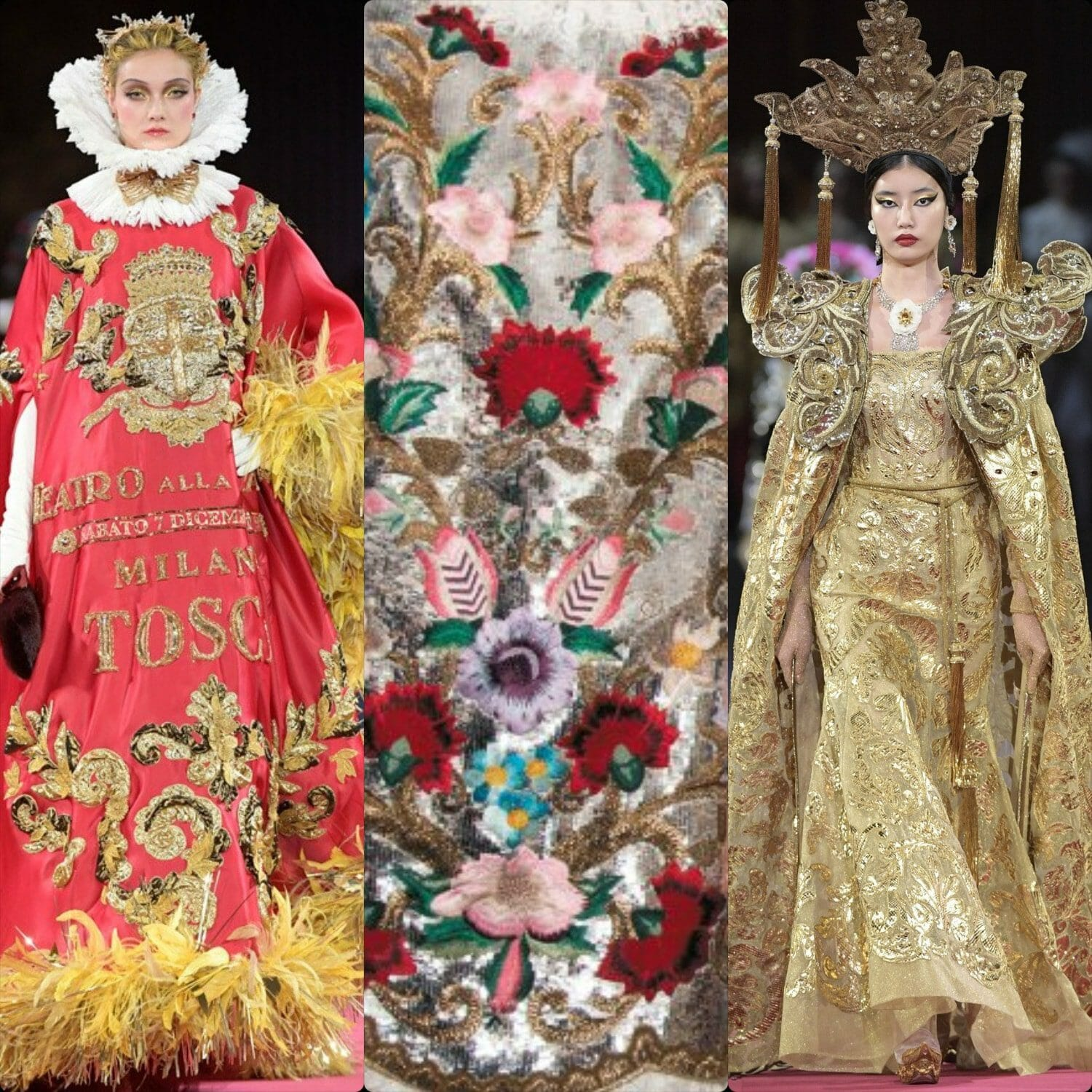 Dolce Gabbana Alta Moda La Scala 2019. RUNWAY MAGAZINE ® Collections. RUNWAY NOW / RUNWAY NEW