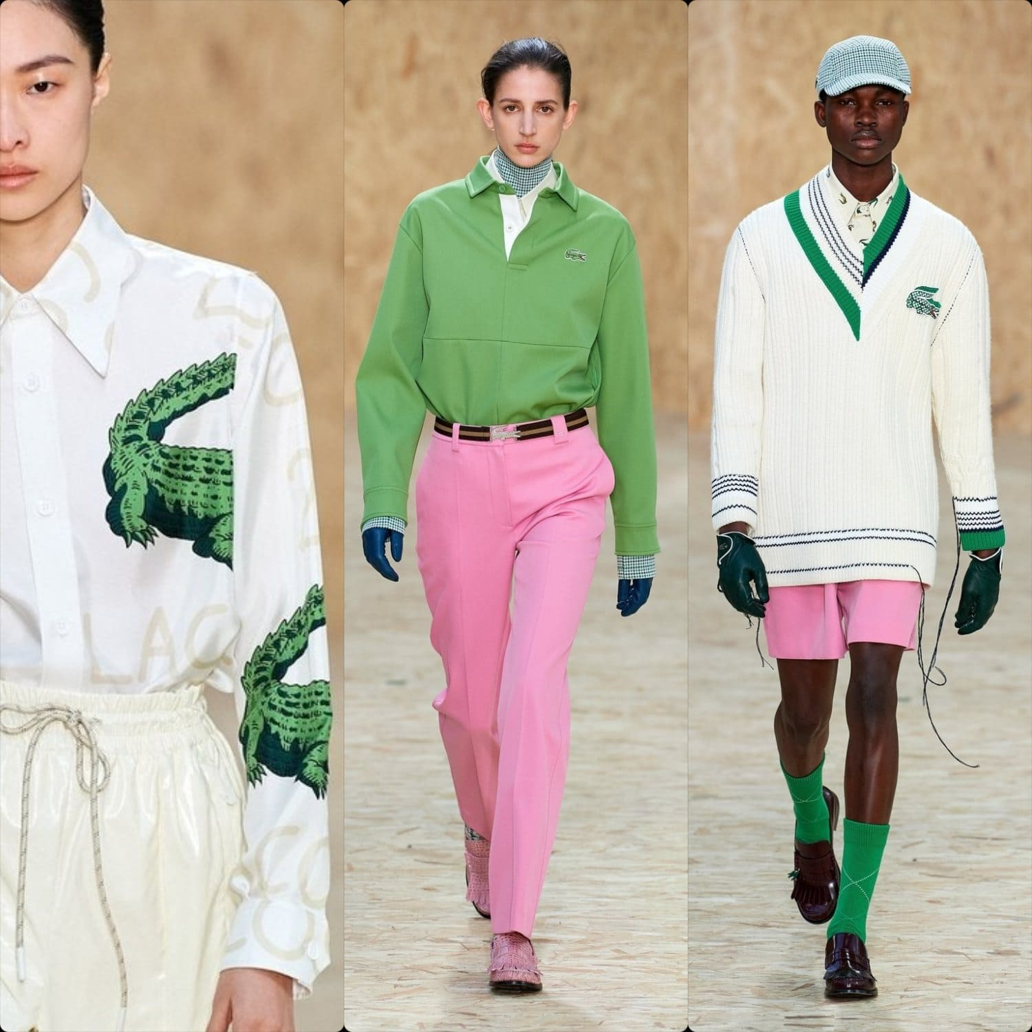Lacoste Fall-Winter 2020-2021 Paris. RUNWAY MAGAZINE ® Collections. RUNWAY NOW / RUNWAY NEW
