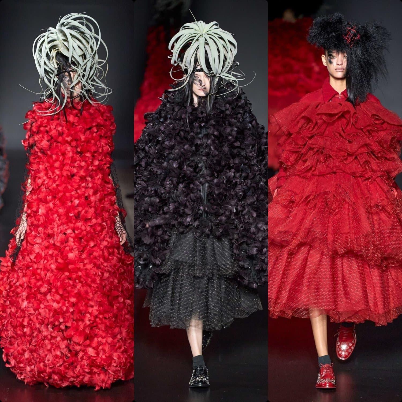 Noir Kei Ninomiya Fall-Winter 2020-2021 Paris. RUNWAY MAGAZINE ® Collections. RUNWAY NOW / RUNWAY NEW