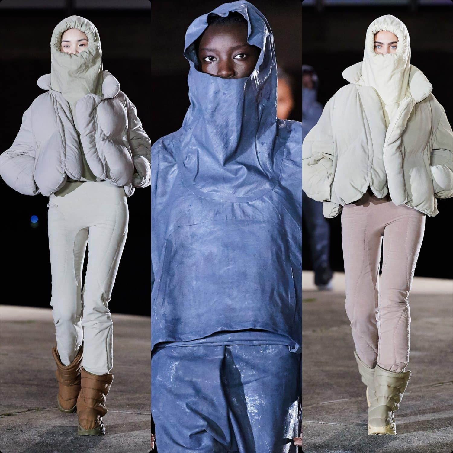 Yeezy by Kanye West Fall-Winter 2020-2021 Paris Fashion Week. RUNWAY MAGAZINE ® Collections. RUNWAY NOW / RUNWAY NEW