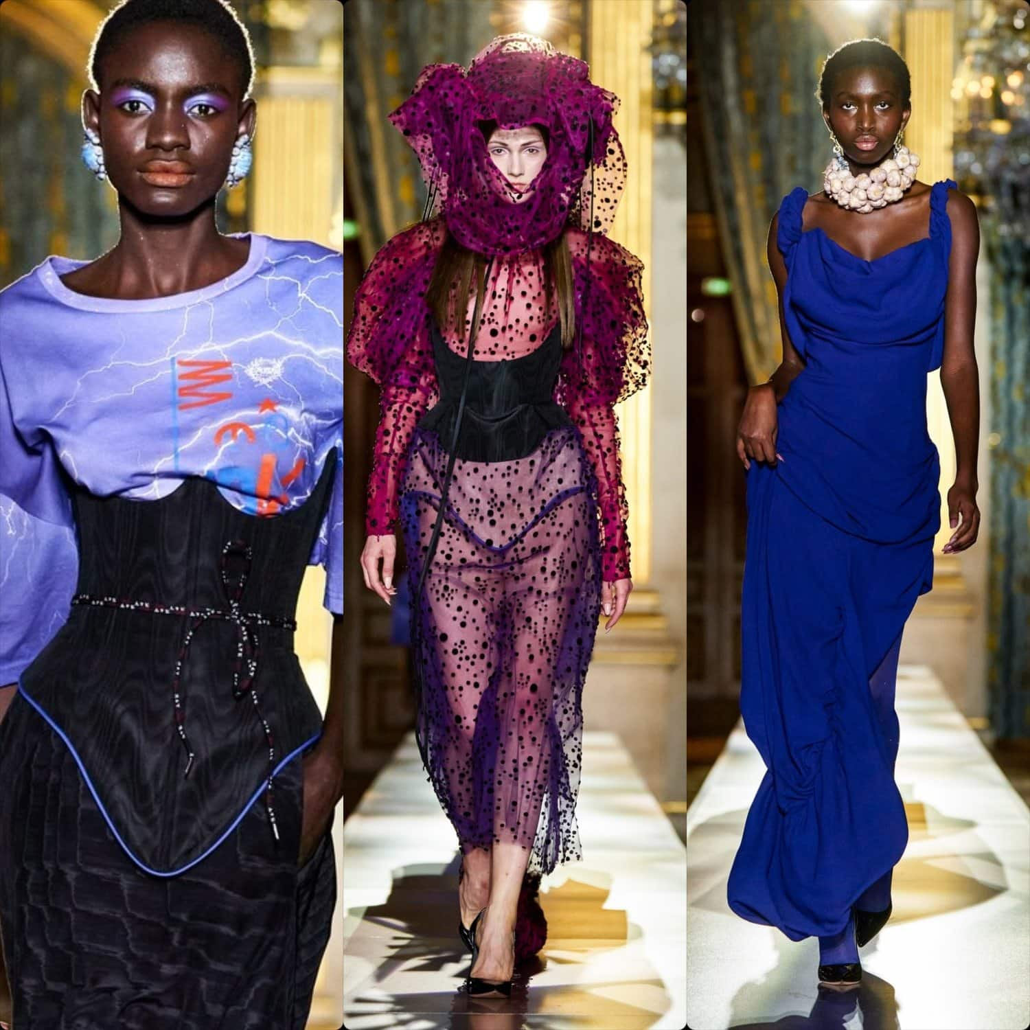 Andreas Kronthaler for Vivienne Westwood Fall-Winter 2020-2021 Paris. RUNWAY MAGAZINE ® Collections. RUNWAY NOW / RUNWAY NEW