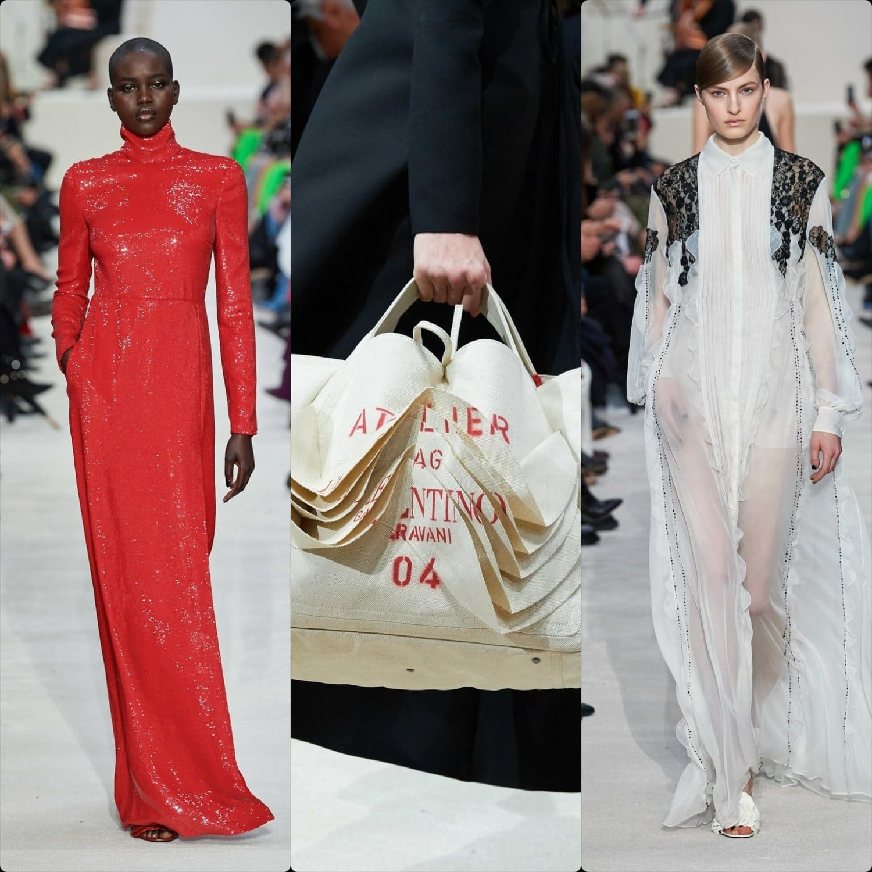 Valentino Fall-Winter 2020-2021 Paris. RUNWAY MAGAZINE ® Collections. RUNWAY NOW / RUNWAY NEW