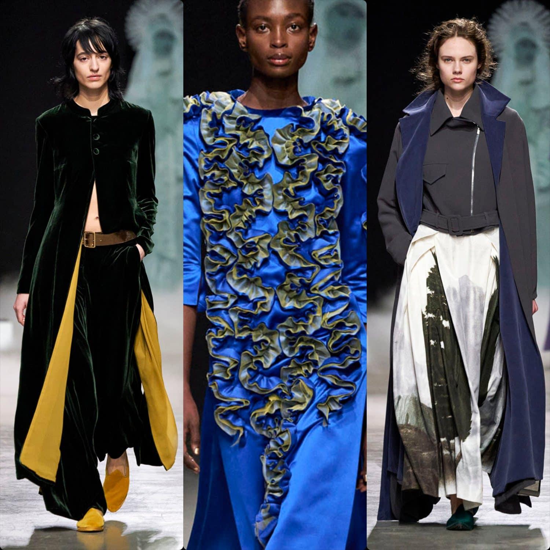 Junko Shimada Fall-Winter 2020-2021 Paris. RUNWAY MAGAZINE ® Collections. RUNWAY NOW / RUNWAY NEW