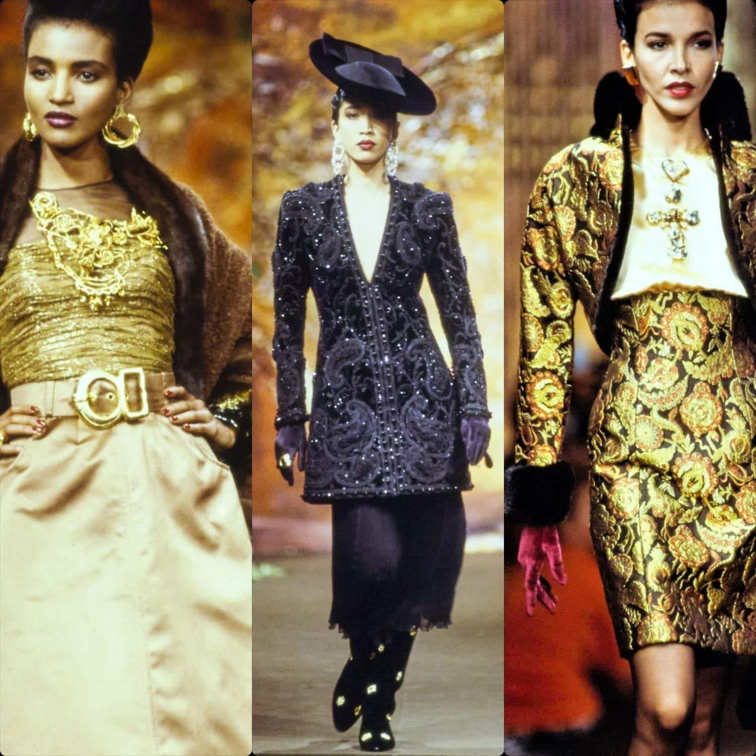 Christian Lacroix Haute Couture Fall-Winter 1988-1989. RUNWAY MAGAZINE ® Collections. RUNWAY NOW / RUNWAY NEW