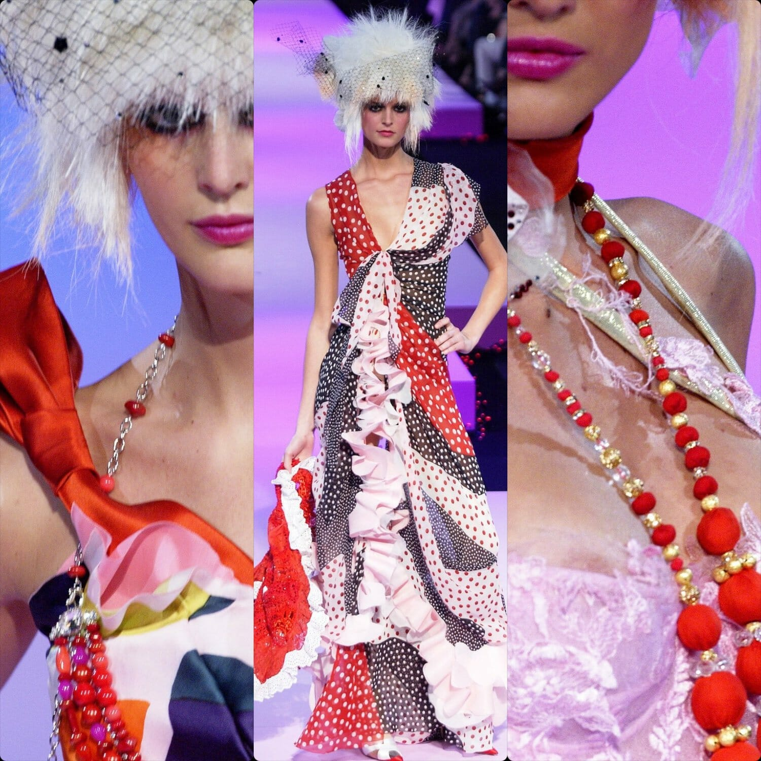 Christian Lacroix Haute Couture Spring Summer 2003. RUNWAY MAGAZINE ® Collections. RUNWAY NOW / RUNWAY NEW