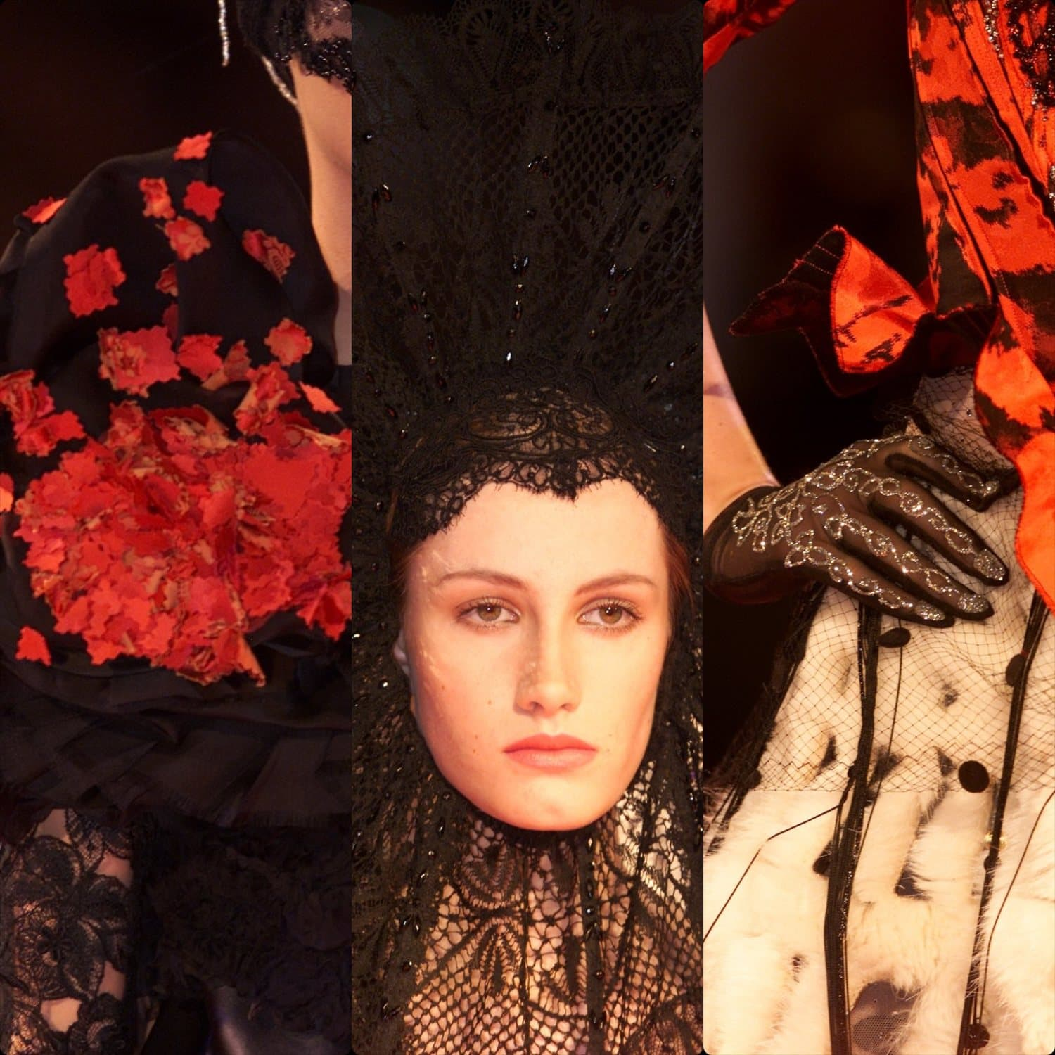 Christian Lacroix Haute Couture Fall-Winter 2001-2002. RUNWAY MAGAZINE ® Collections. RUNWAY NOW / RUNWAY NEW