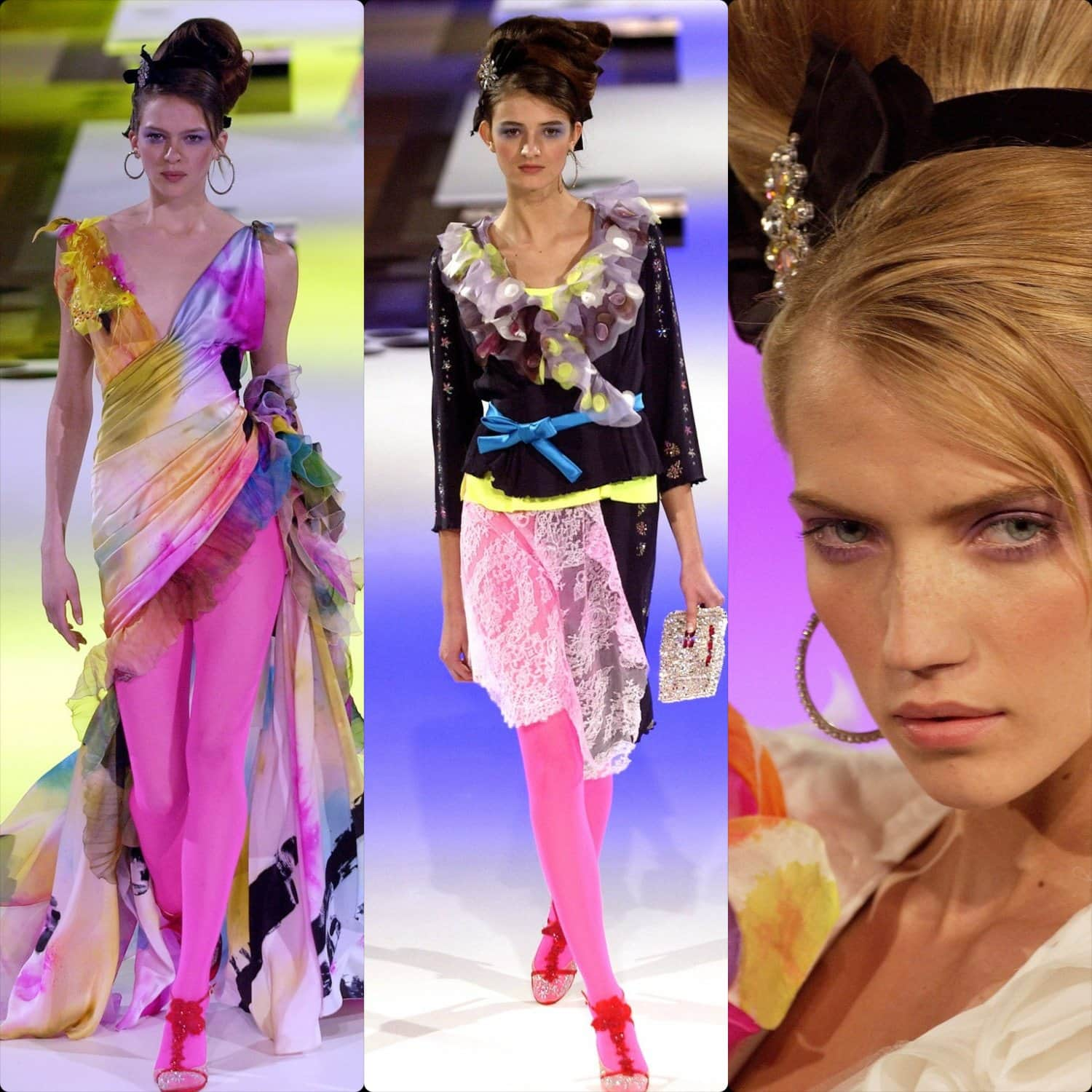 Christian Lacroix Haute Couture Spring Summer 2004. RUNWAY MAGAZINE ® Collections. RUNWAY NOW / RUNWAY NEW