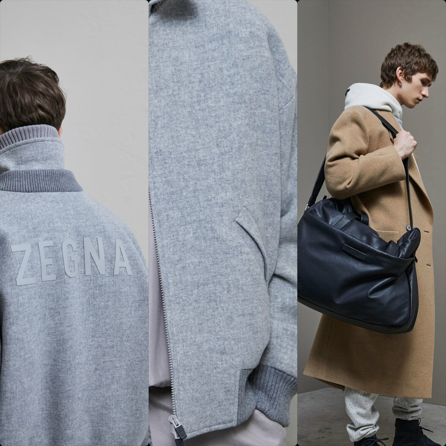 Ermenegildo Zegna and Fear of God Fall-Winter 2020-2021 Paris. RUNWAY MAGAZINE ® Collections. RUNWAY NOW / RUNWAY NEW