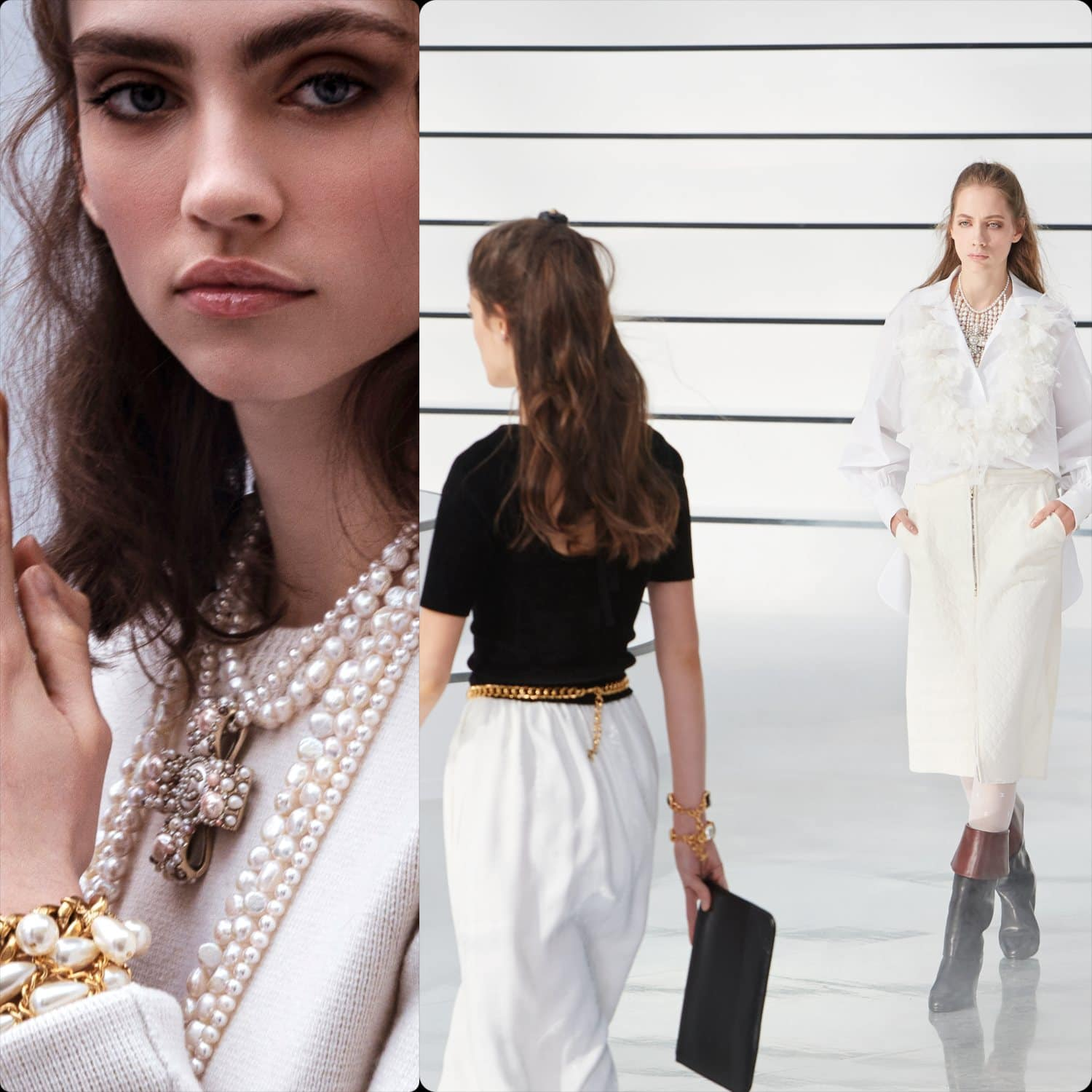 Chanel Fall-Winter 2020-2021 Paris. RUNWAY MAGAZINE ® Collections. RUNWAY NOW / RUNWAY NEW