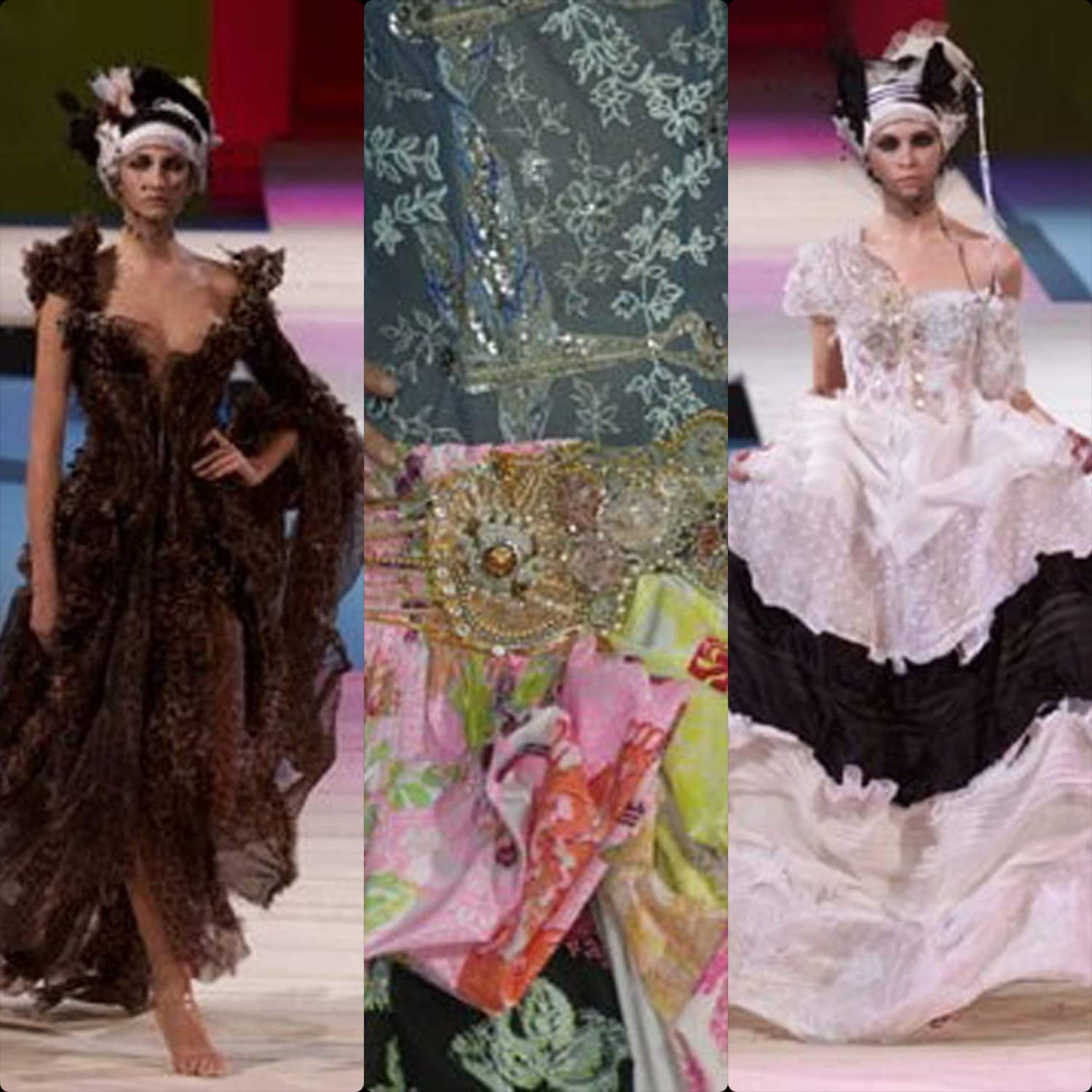 Christian Lacroix Haute Couture Spring Summer 2002.. RUNWAY MAGAZINE ® Collections. RUNWAY NOW / RUNWAY NEW