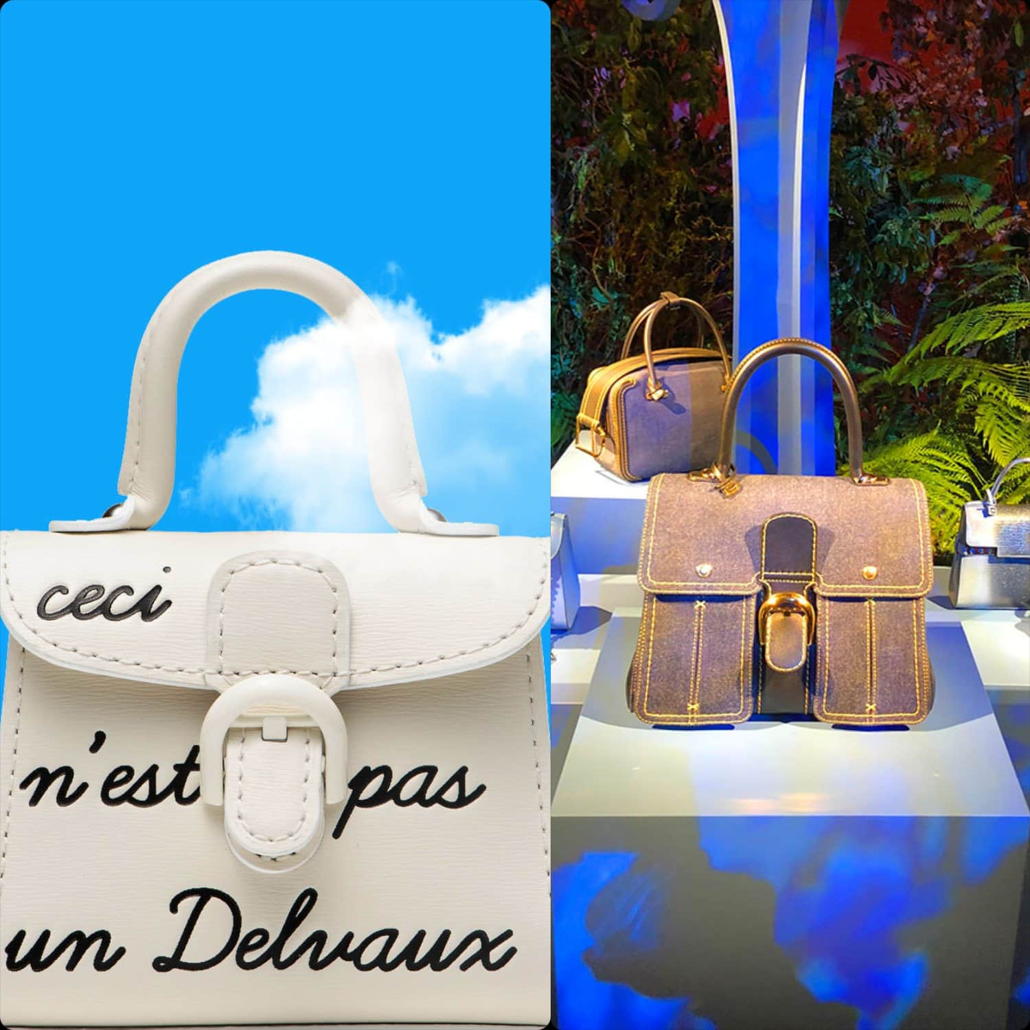 Delvaux Fall-Winter 2020-2021 Paris. RUNWAY MAGAZINE ® Collections. RUNWAY NOW / RUNWAY NEW