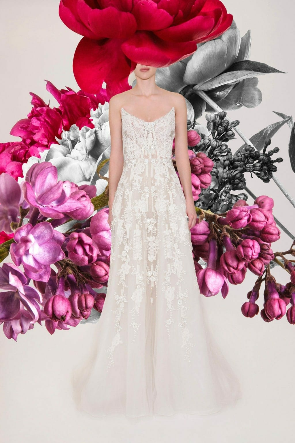 Reem Acra Bridal Spring Summer 2021 New York. RUNWAY MAGAZINE ® Collections. RUNWAY NOW / RUNWAY NEW