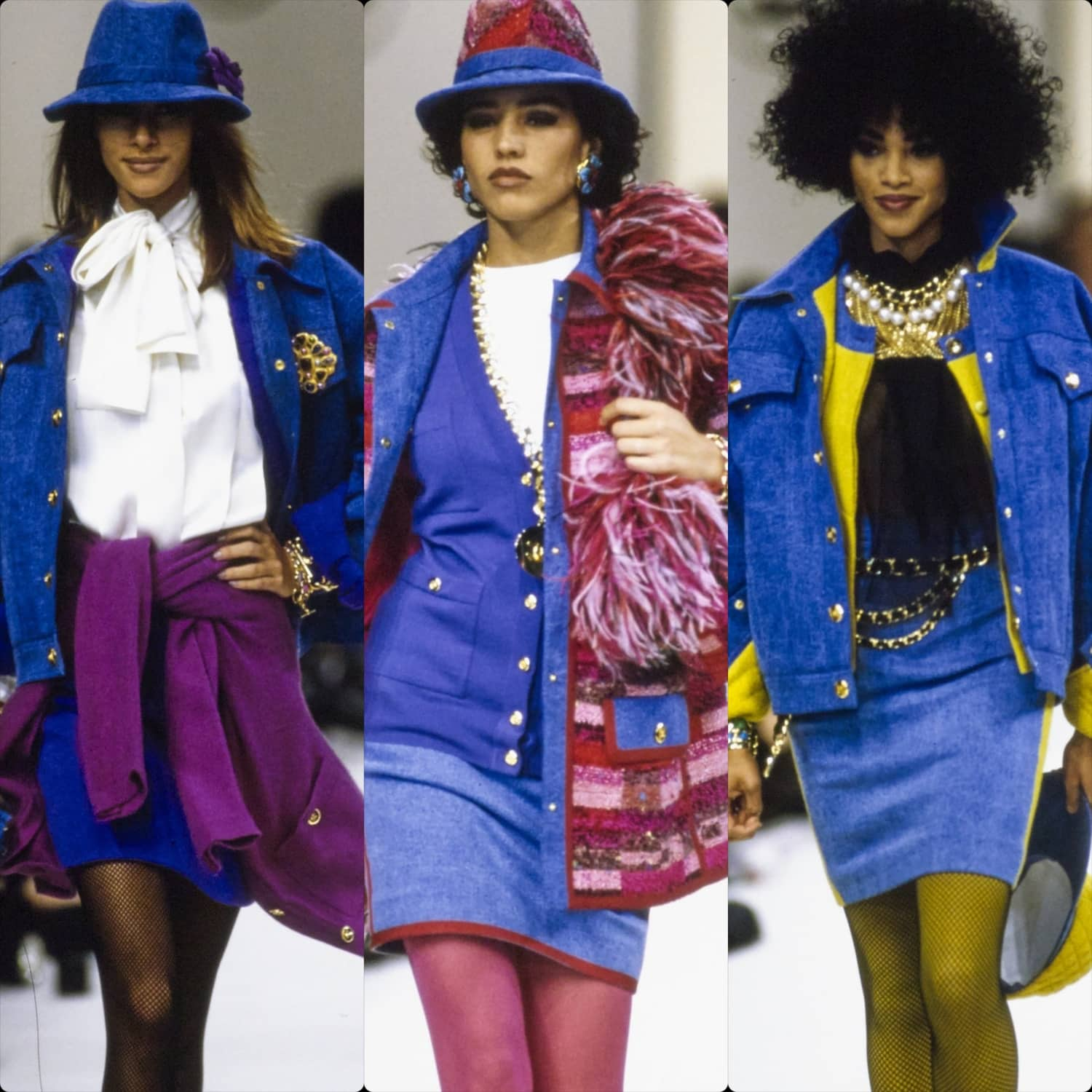 CHANEL READY-TO-WEAR FALL-WINTER 1991-1992. RUNWAY MAGAZINE ® Collections. RUNWAY NOW / RUNWAY NEW