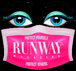 RUNWAY MAGAZINE Logo - protect yourself