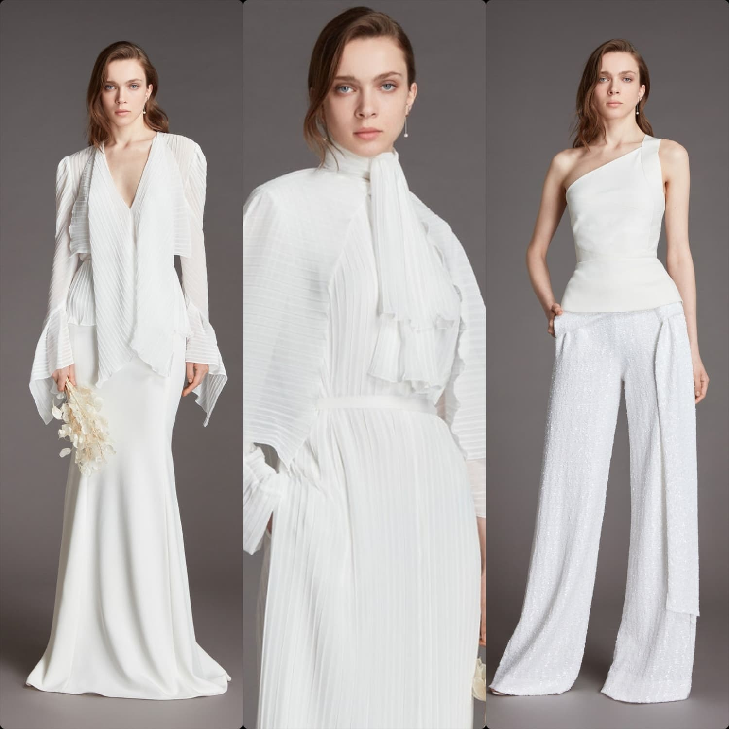 Roland Mouret Bridal Spring Summer 2021 London. RUNWAY MAGAZINE ® Collections. RUNWAY NOW / RUNWAY NEW
