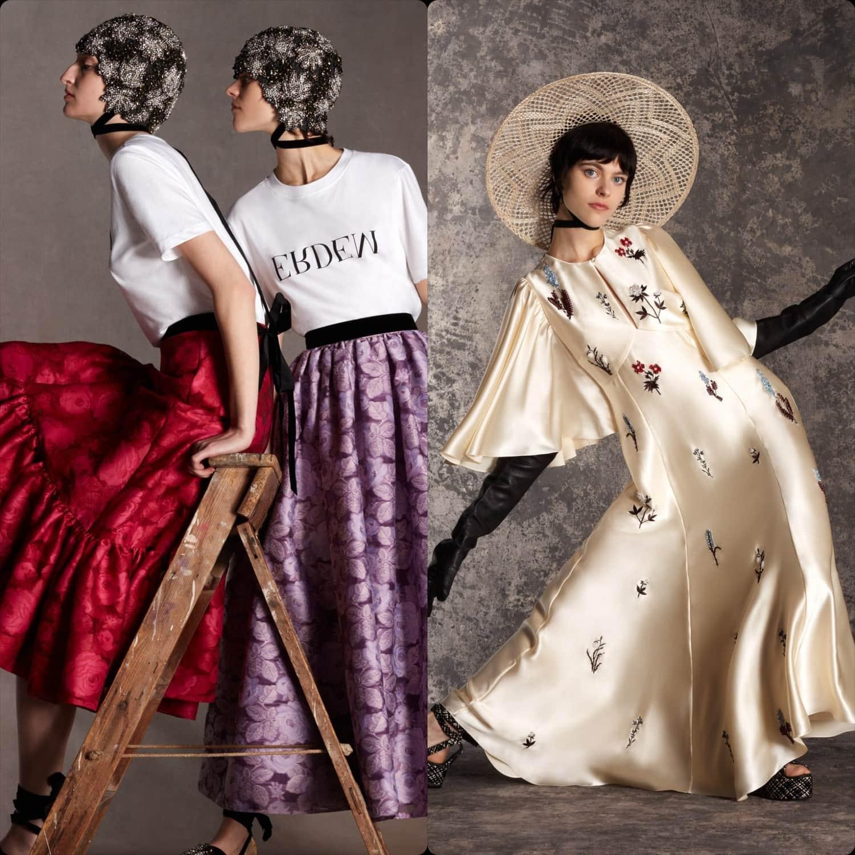 Erdem Pre-collection Fall-Winter 2020 London. RUNWAY MAGAZINE ® Collections. RUNWAY NOW / RUNWAY NEW