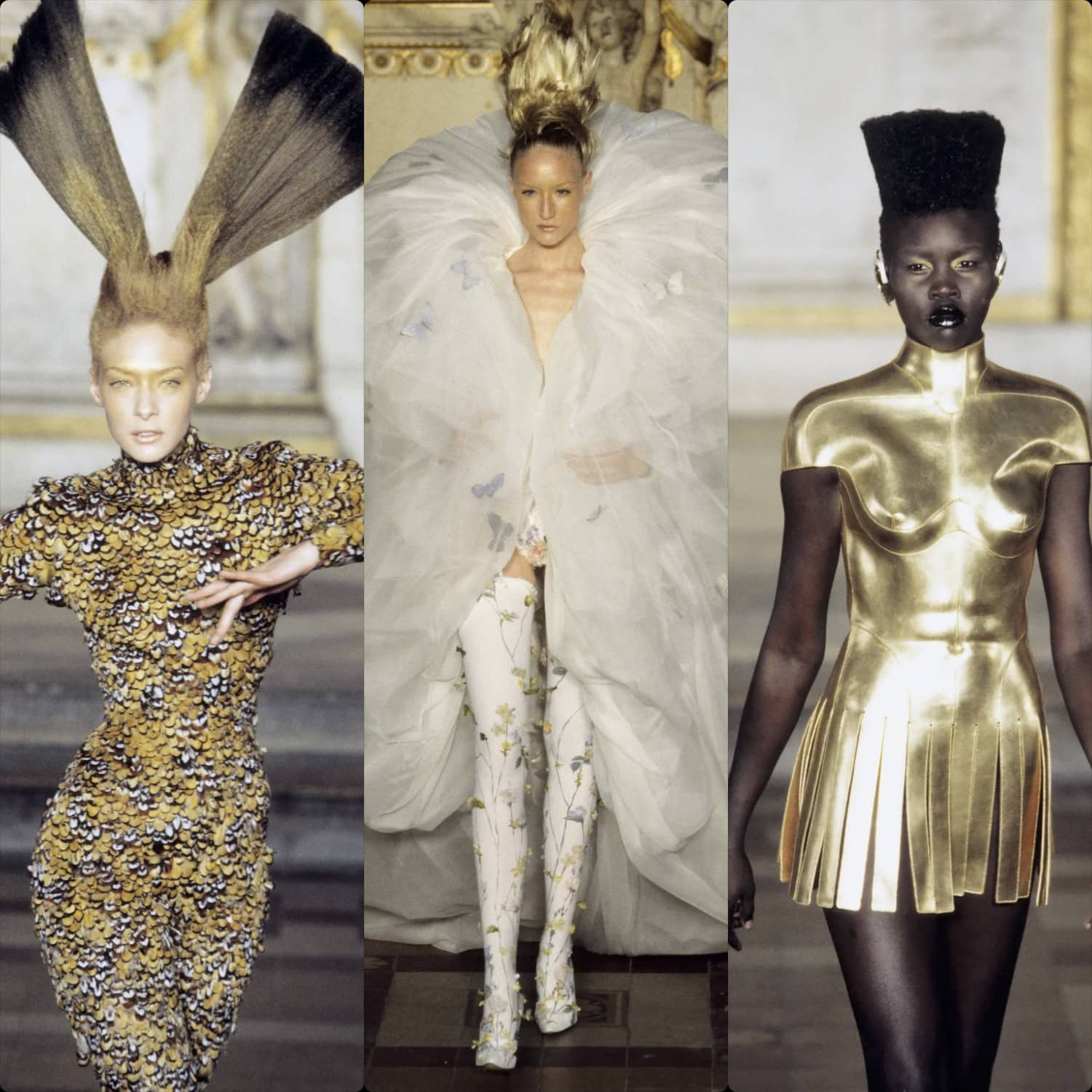 Givenchy by Alexander McQueen Haute Couture Spring Summer 1997. RUNWAY MAGAZINE ® Collections. RUNWAY NOW / RUNWAY NEW
