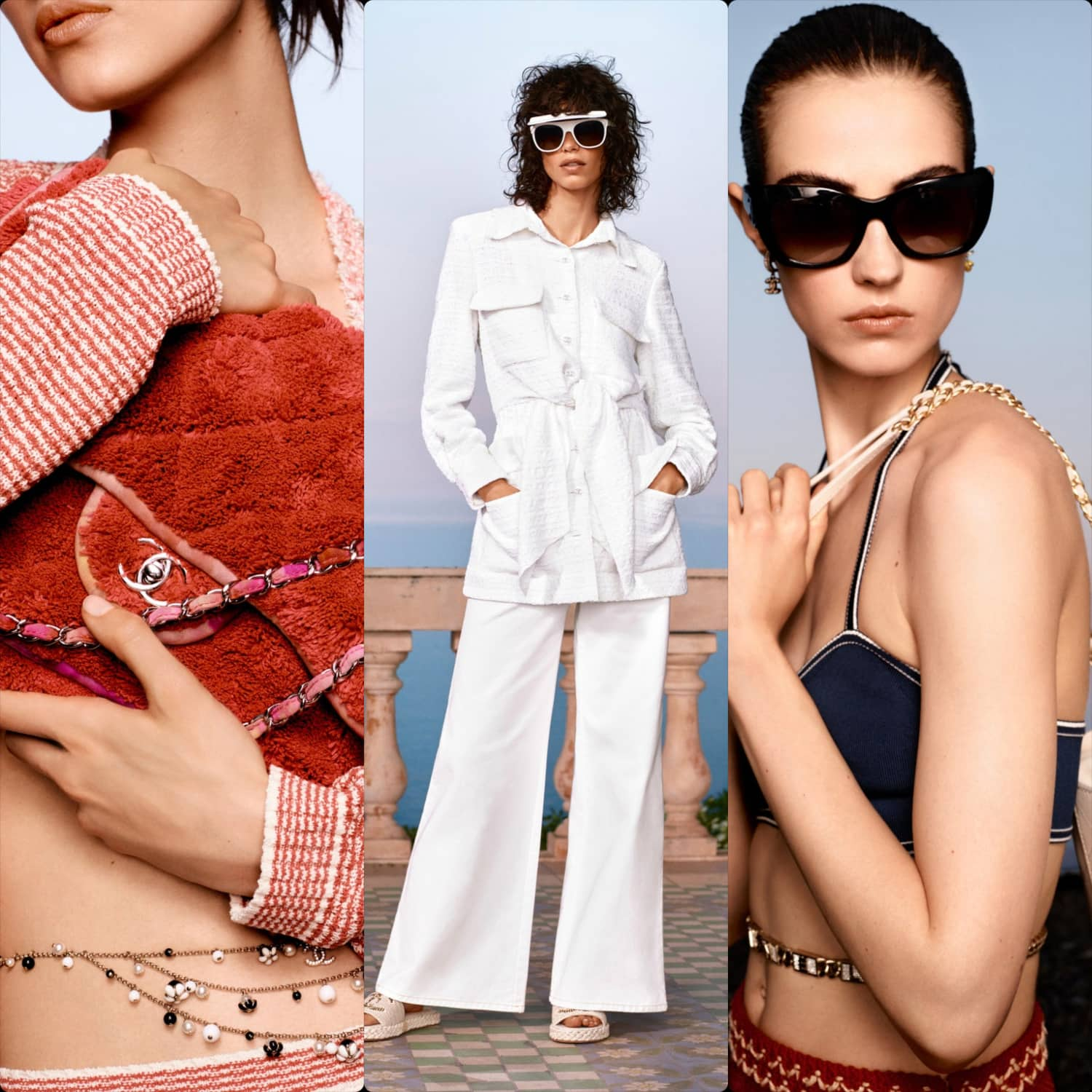 Chanel Cruise 2021 Paris. Resort Collection. RUNWAY MAGAZINE ® Collections. RUNWAY NOW / RUNWAY NEW