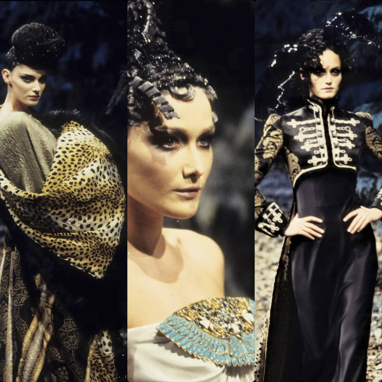 Givenchy by John Galliano Haute Couture Fall-Winter 1996-1997. RUNWAY MAGAZINE ® Collections. RUNWAY NOW / RUNWAY NEW