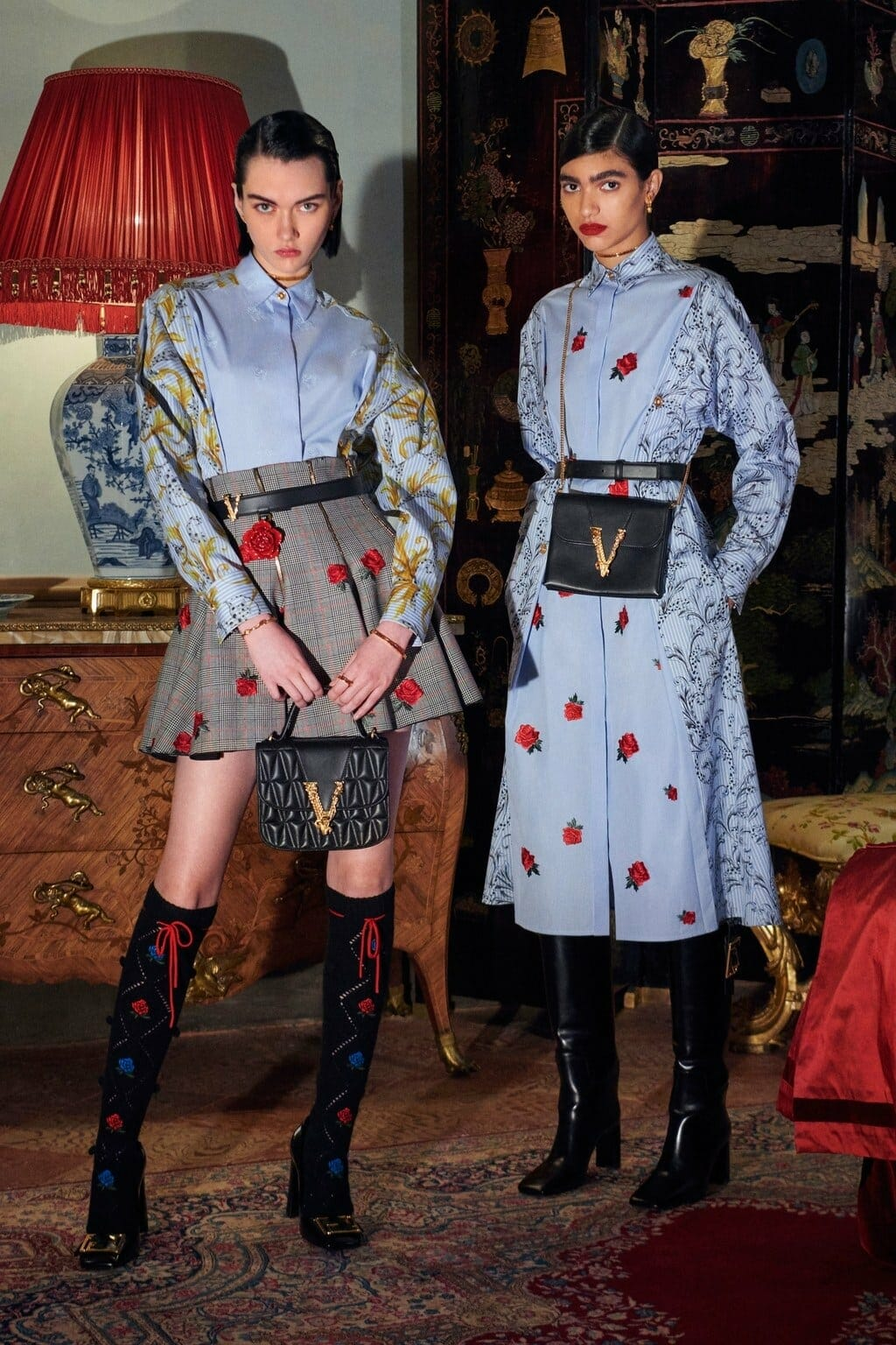 Versace Pre-Fall 2020 Milan. RUNWAY MAGAZINE ® Collections. RUNWAY NOW / RUNWAY NEW