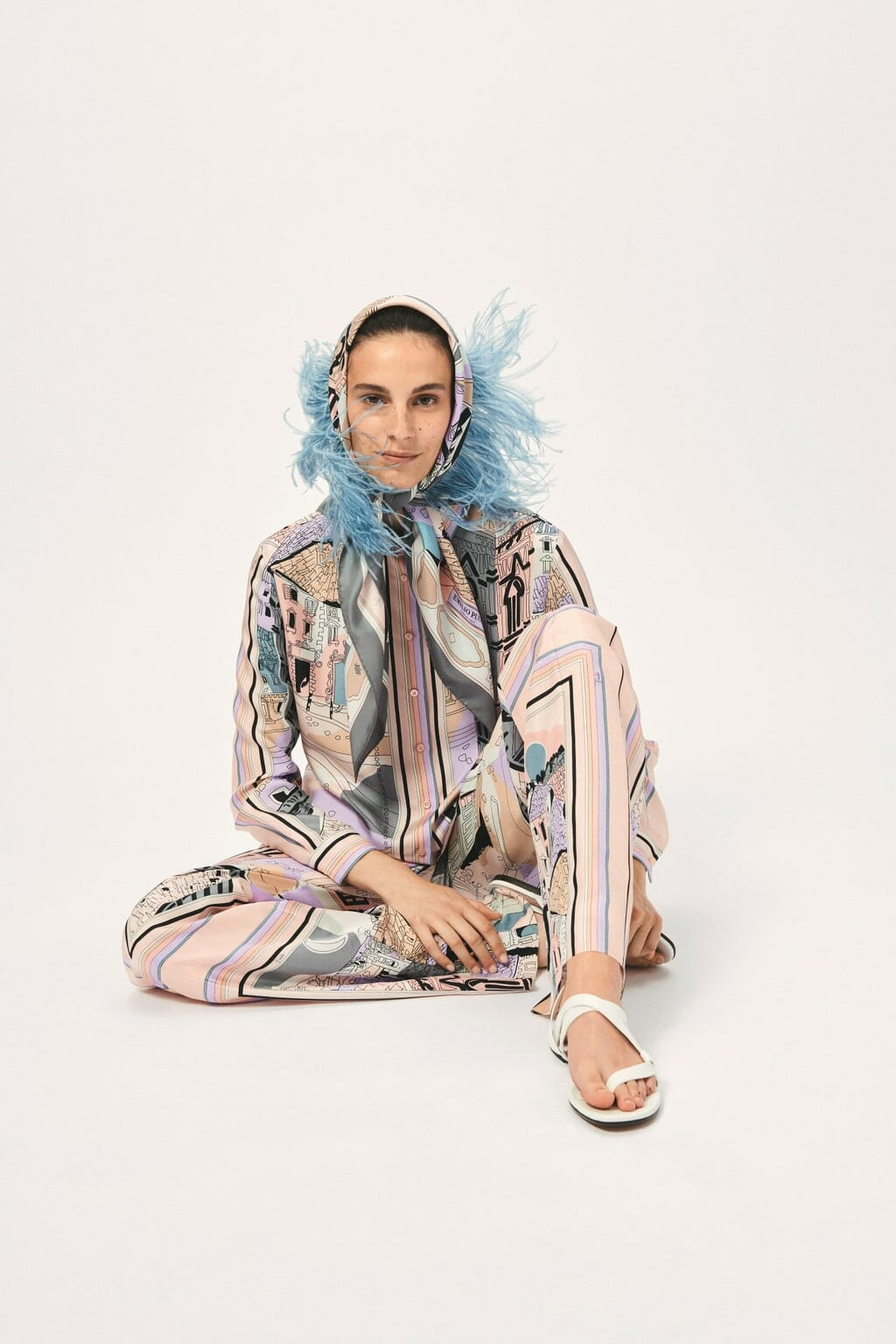 Emilio Pucci Cruise 2021 Resort. RUNWAY MAGAZINE ® Collections. RUNWAY NOW / RUNWAY NEW