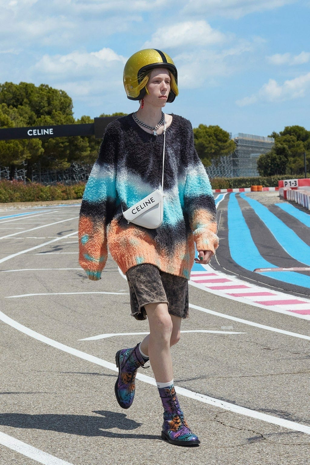 Celine Spring Summer 2021 Men. RUNWAY MAGAZINE ® Collections. RUNWAY NOW / RUNWAY NEW