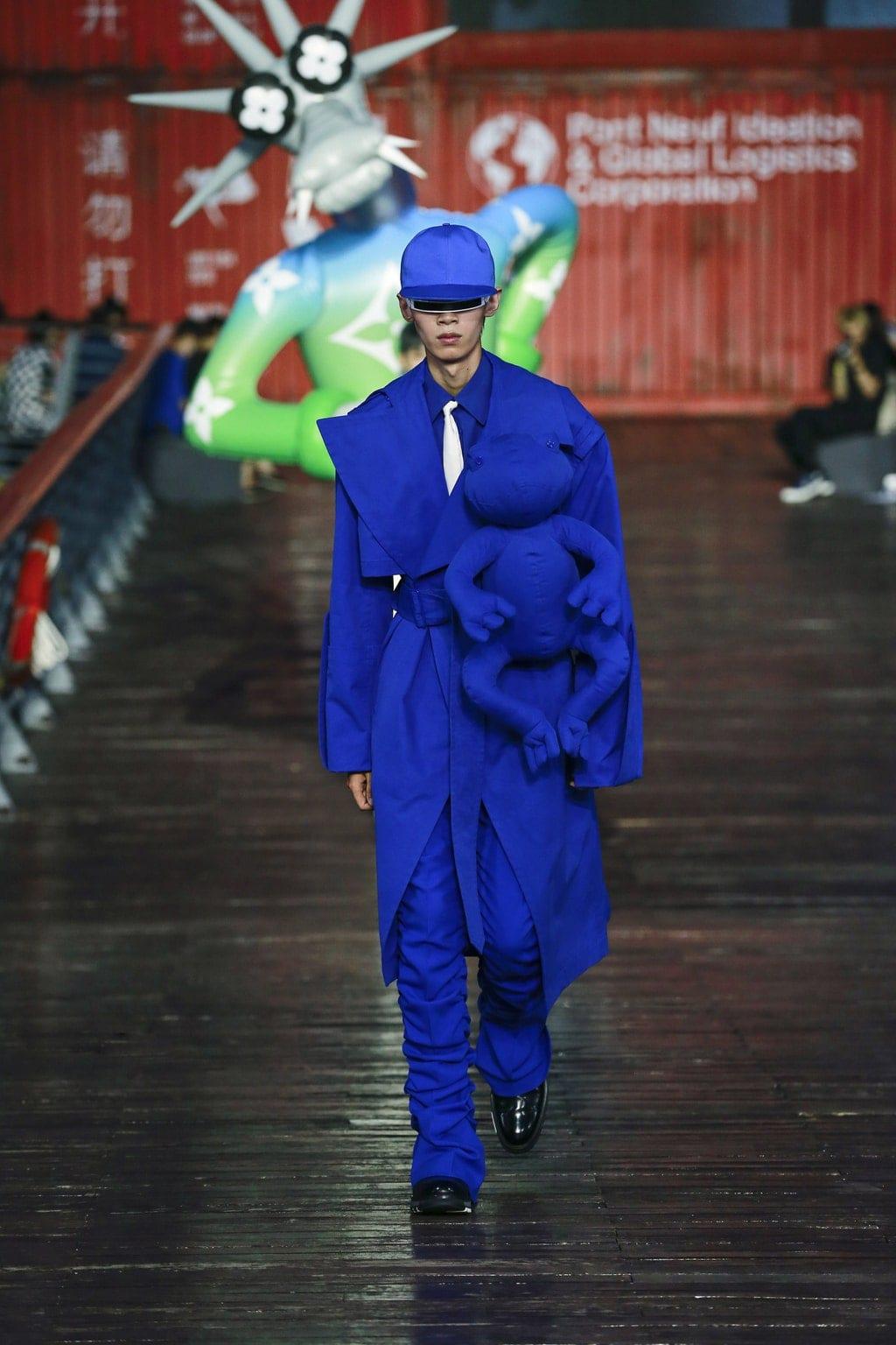 Louis Vuitton Spring Summer 2021 Menswear Shanghai. RUNWAY MAGAZINE ® Collections. RUNWAY NOW / RUNWAY NEW