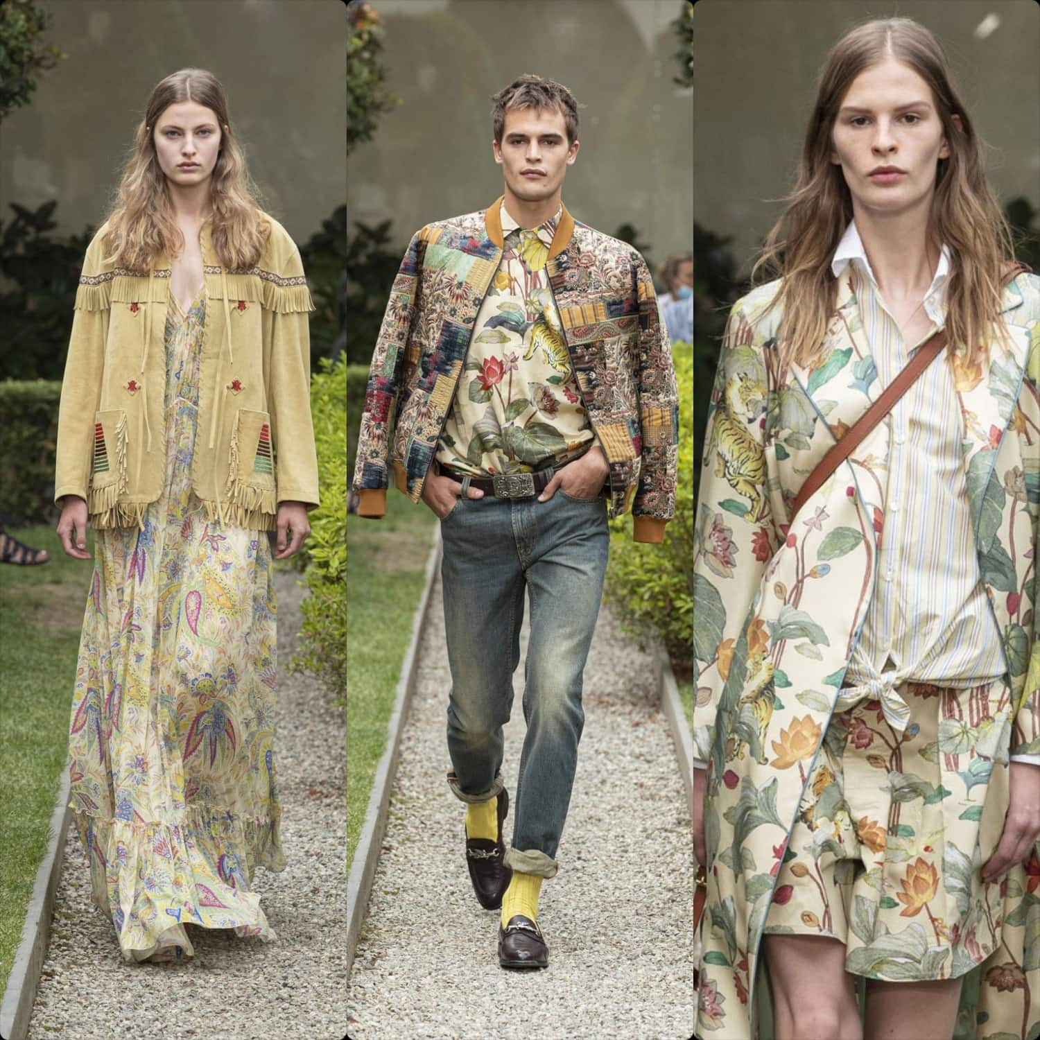 Etro Spring Summer 2021 Men and Resort 2021. RUNWAY MAGAZINE ® Collections. RUNWAY NOW / RUNWAY NEW