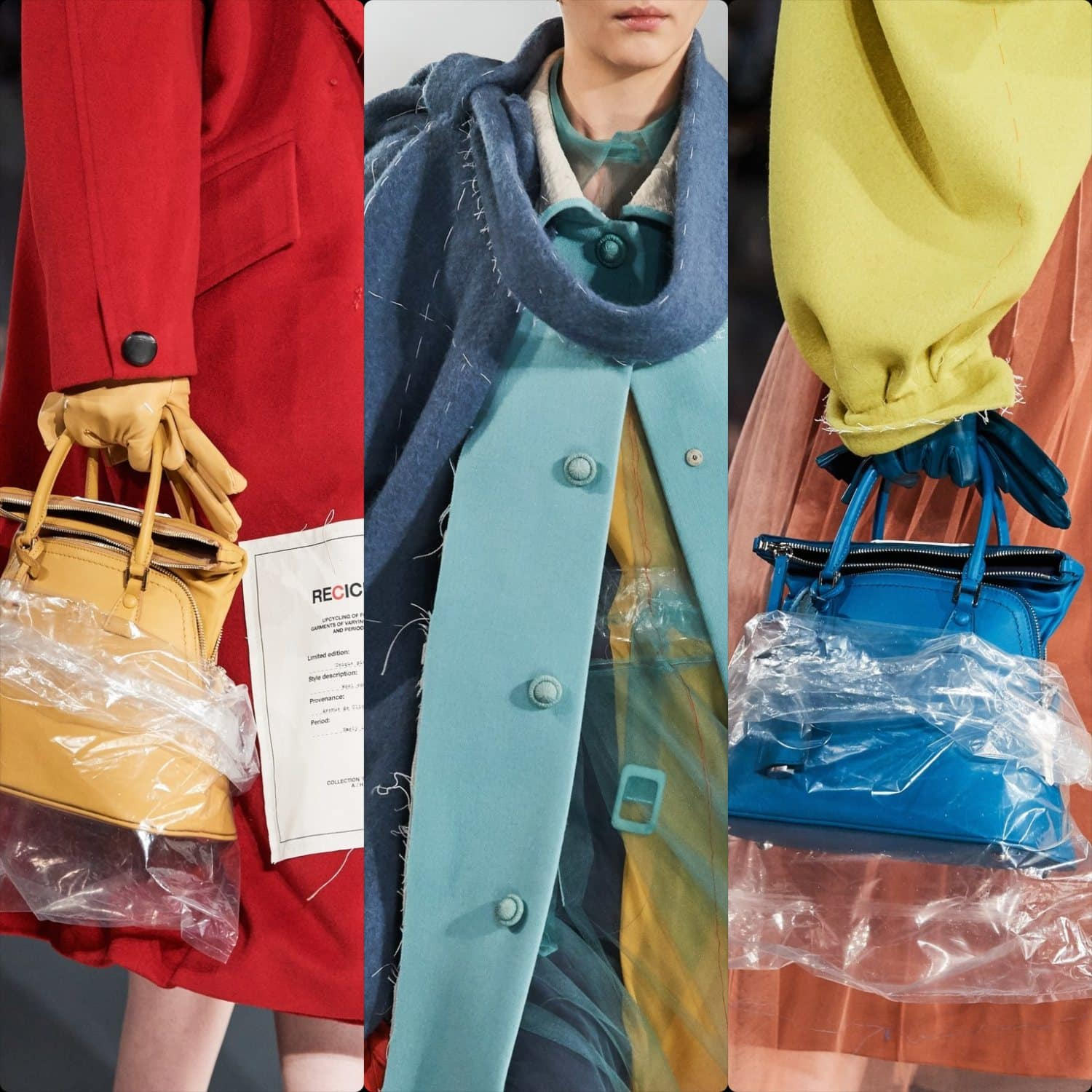 Maison Margiela Fall-Winter 2020-2021 Paris. RUNWAY MAGAZINE ® Collections. RUNWAY NOW / RUNWAY NEW