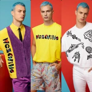 Moschino Spring Summer 2021 Men Milan Digital Fashion Week. RUNWAY MAGAZINE ® Collections. RUNWAY NOW / RUNWAY NEW
