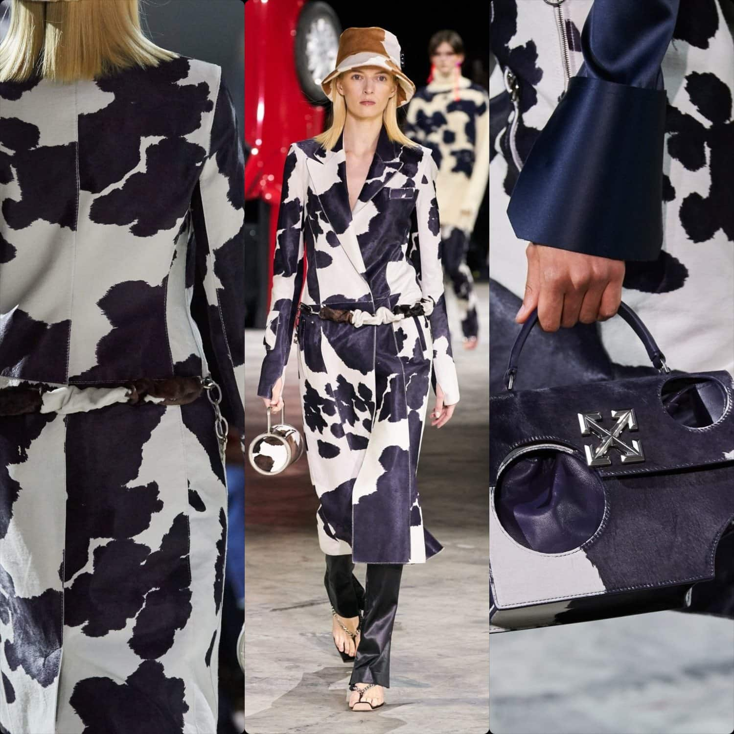 "Off-White Fall Winter 2020-2021 ""Arcteryx and Obelix"" - Paris. RUNWAY MAGAZINE ® Collections. RUNWAY NOW / RUNWAY NEW"