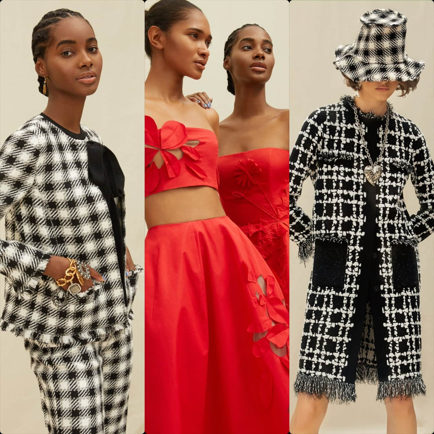 Oscar de la Renta Cruise 2021 Resort New York. RUNWAY MAGAZINE ® Collections. RUNWAY NOW / RUNWAY NEW