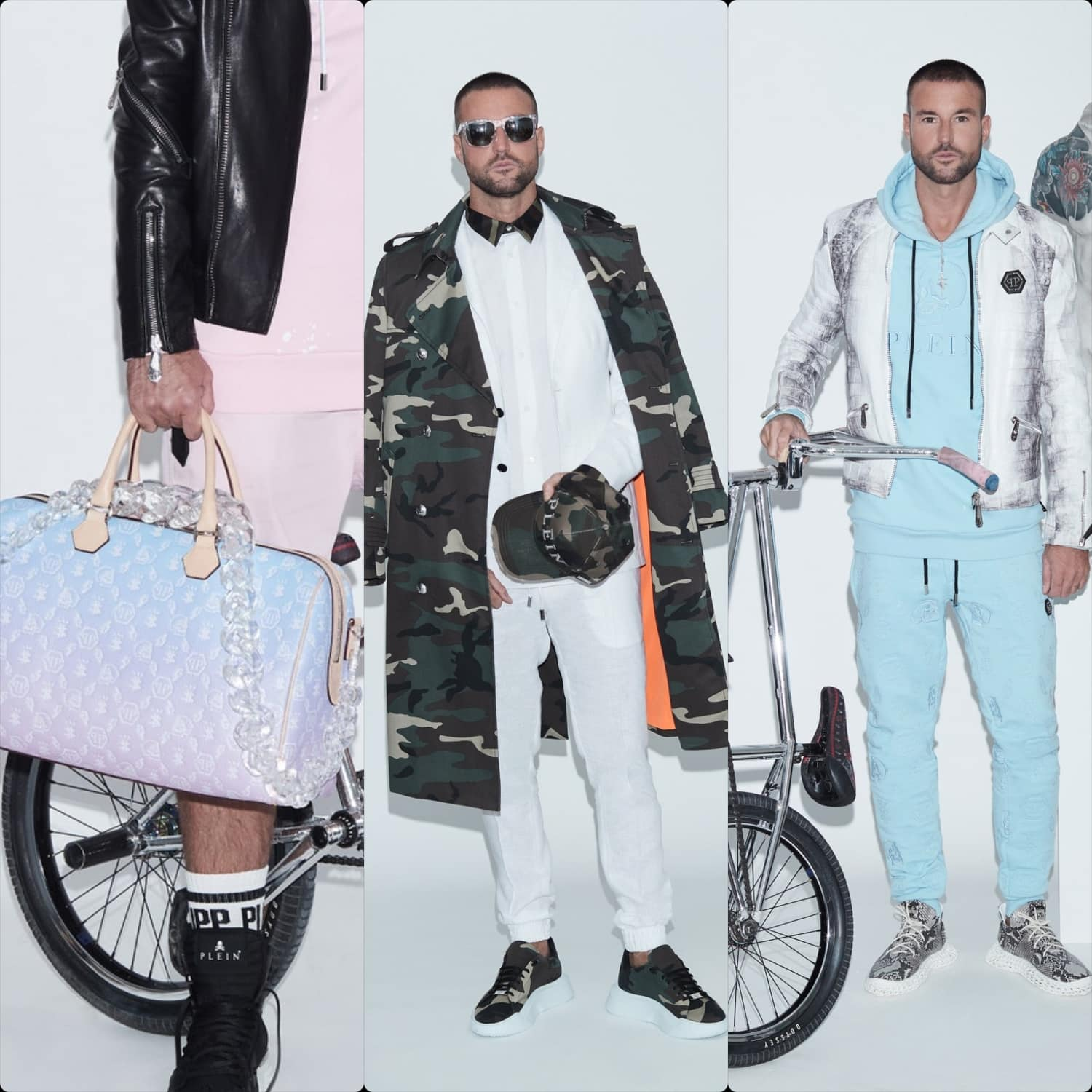 Philipp Plein Spring Summer 2021 Men Milan Digital Fashion Week. RUNWAY MAGAZINE ® Collections. RUNWAY NOW / RUNWAY NEW