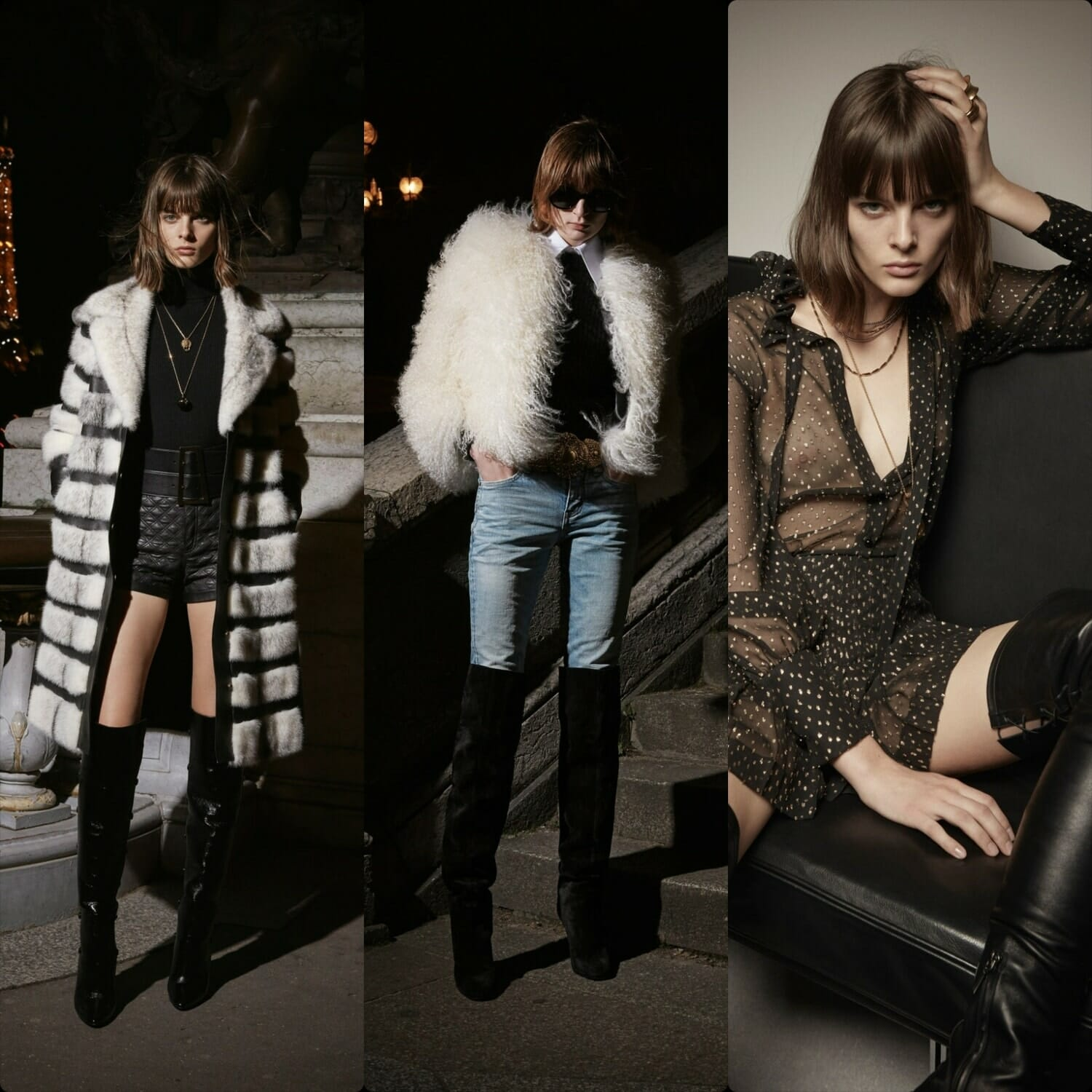 Saint Laurent Pre-Fall 2020 Ready-to-Wear Paris. RUNWAY MAGAZINE ® Collections. RUNWAY NOW / RUNWAY NEW