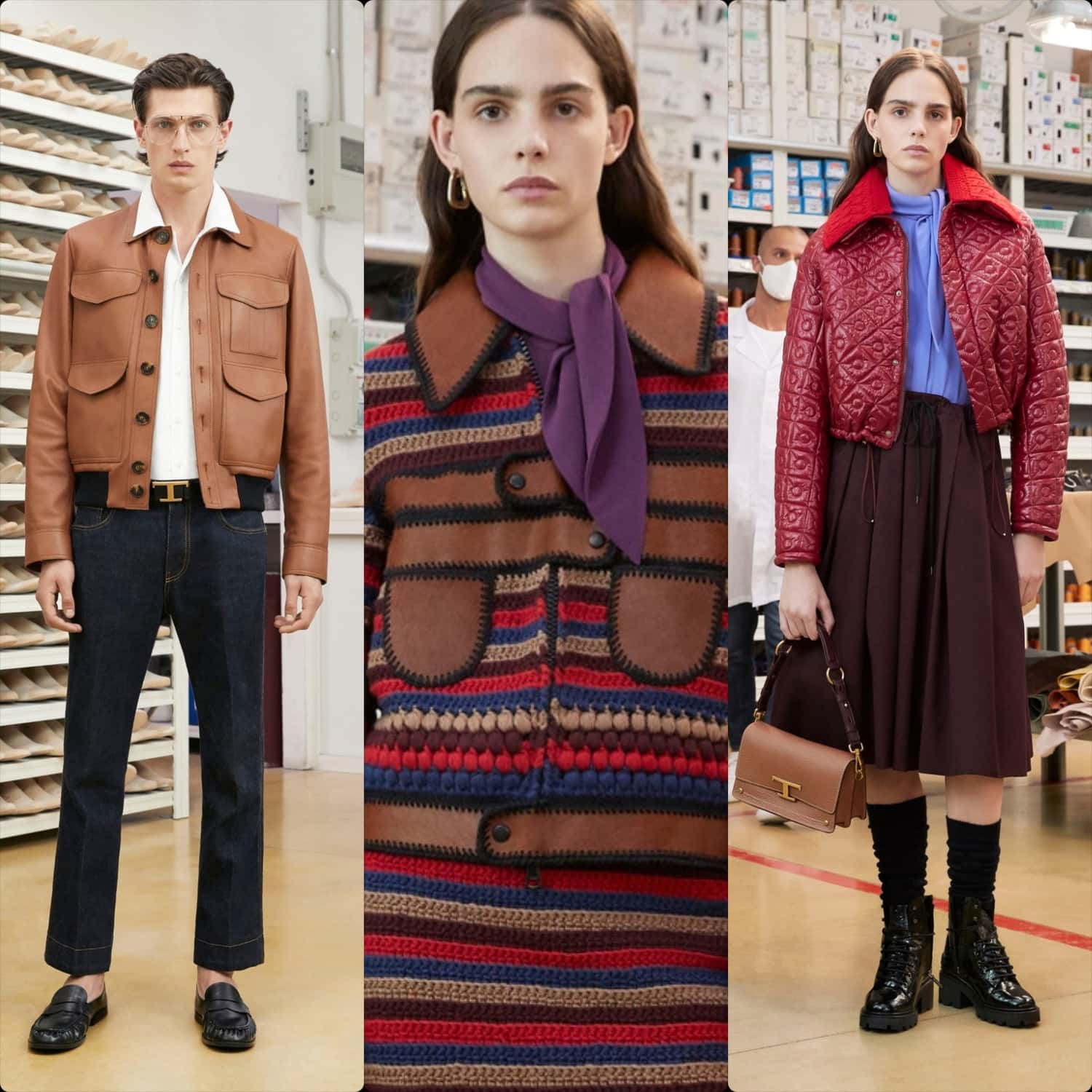 Tod's Spring Summer 2021 by RUNWAY MAGAZINE ® Collections. RUNWAY NOW / RUNWAY NEW
