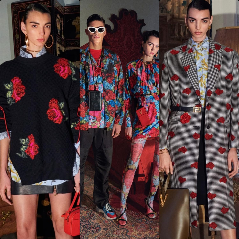 Versace Pre-Fall 2020 Milan. RUNWAY MAGAZINE ® Collections. RUNWAY NOW / RUNWAY NEW