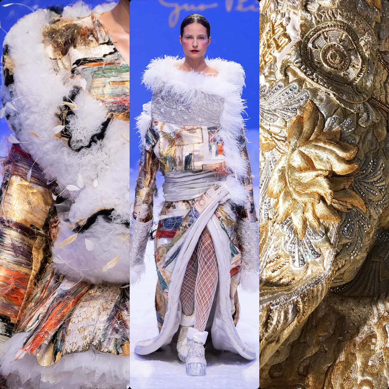 Guo Pei Haute Couture Spring Summer 2020. RUNWAY MAGAZINE ® Collections. RUNWAY NOW / RUNWAY NEW