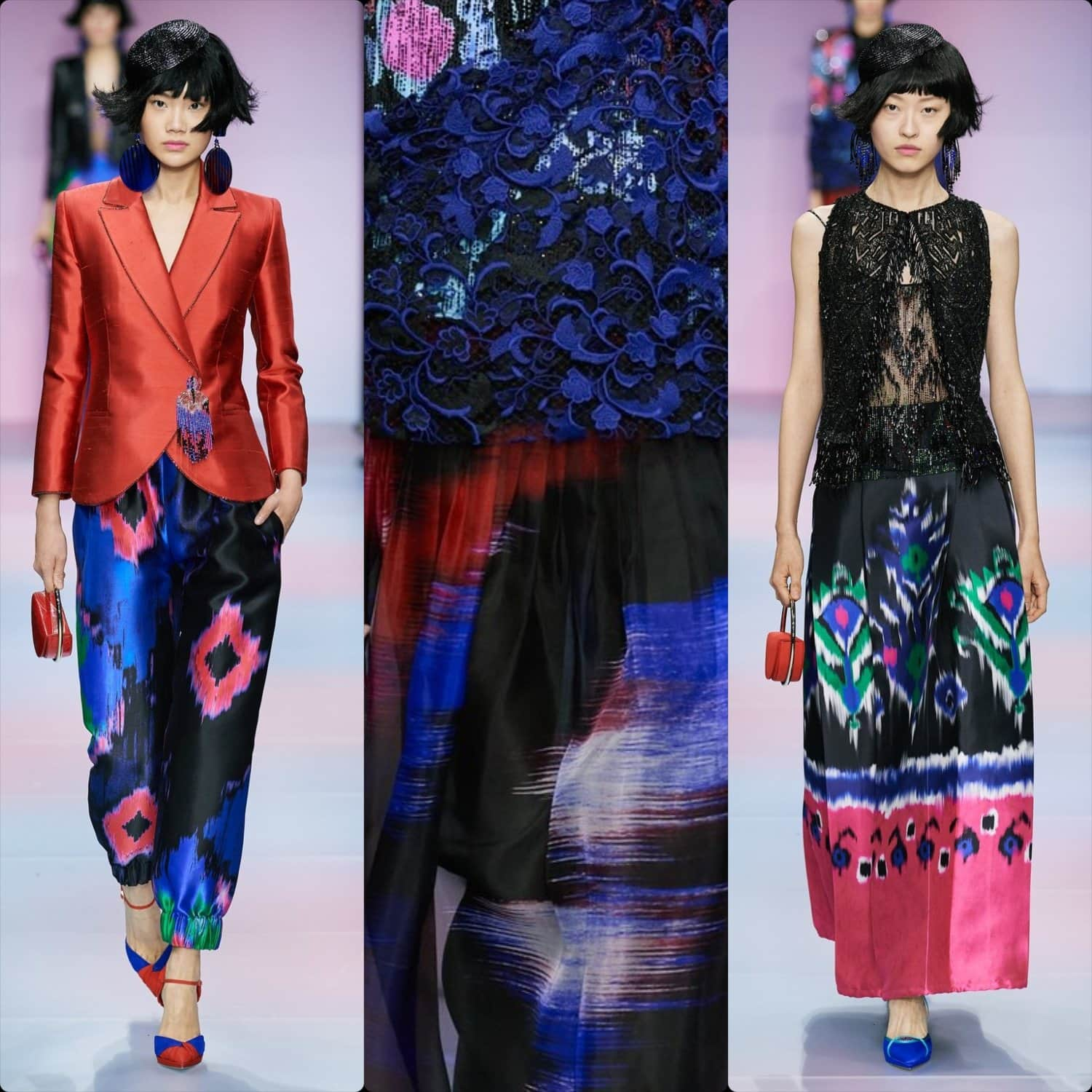 Armani Privé Haute Couture Spring Summer 2020 Paris. RUNWAY MAGAZINE ® Collections. RUNWAY NOW / RUNWAY NEW
