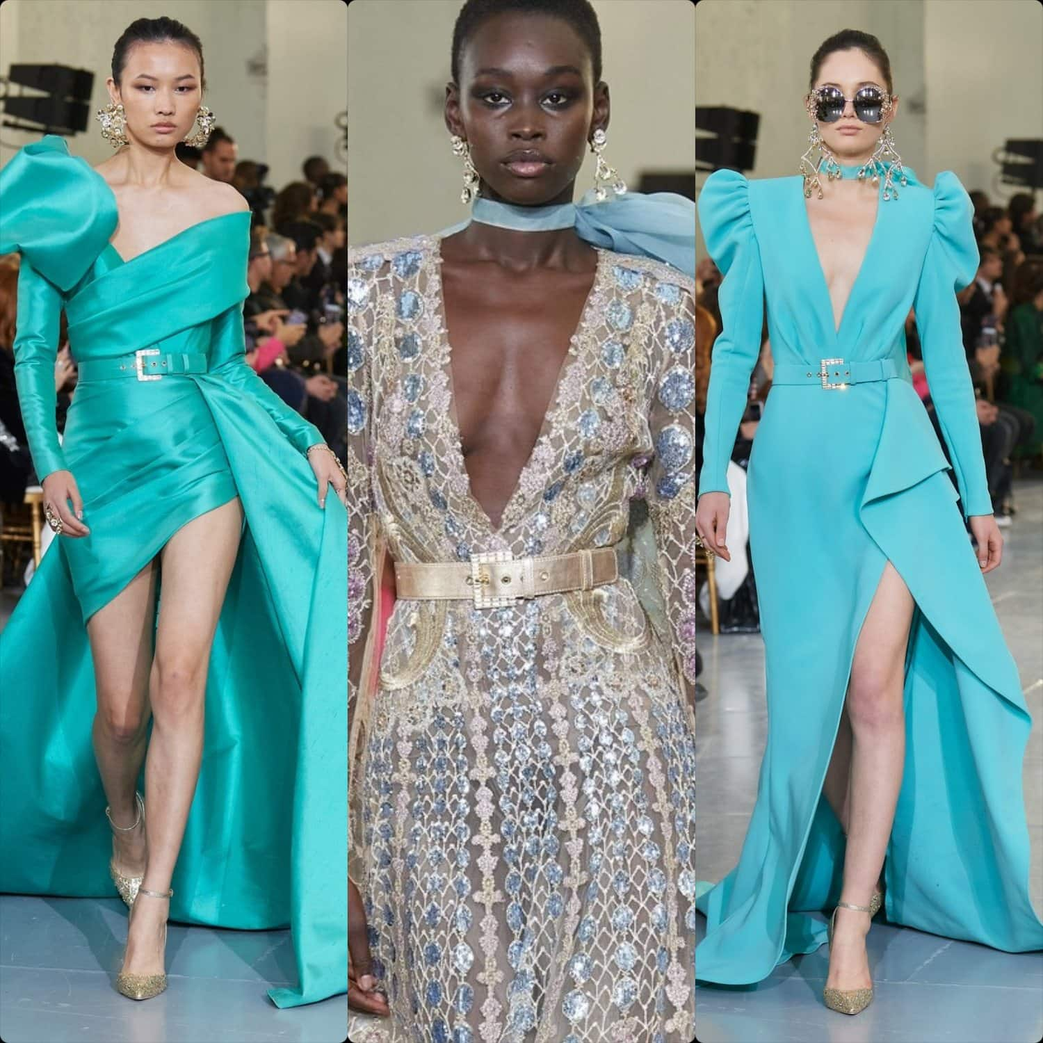 Elie Saab Haute Couture Spring Summer 2020. RUNWAY MAGAZINE ® Collections. RUNWAY NOW / RUNWAY NEW