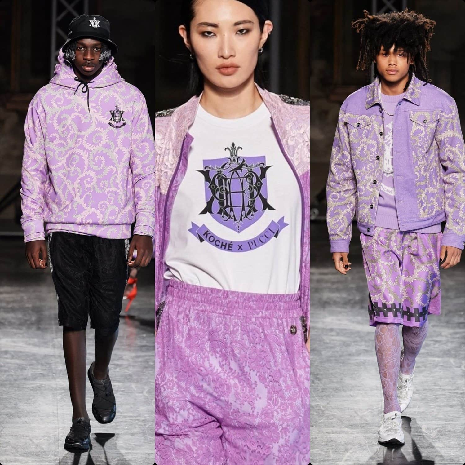 Emilio Pucci Fall-Winter 2020-2021 Milan. RUNWAY MAGAZINE ® Collections. RUNWAY NOW / RUNWAY NEW
