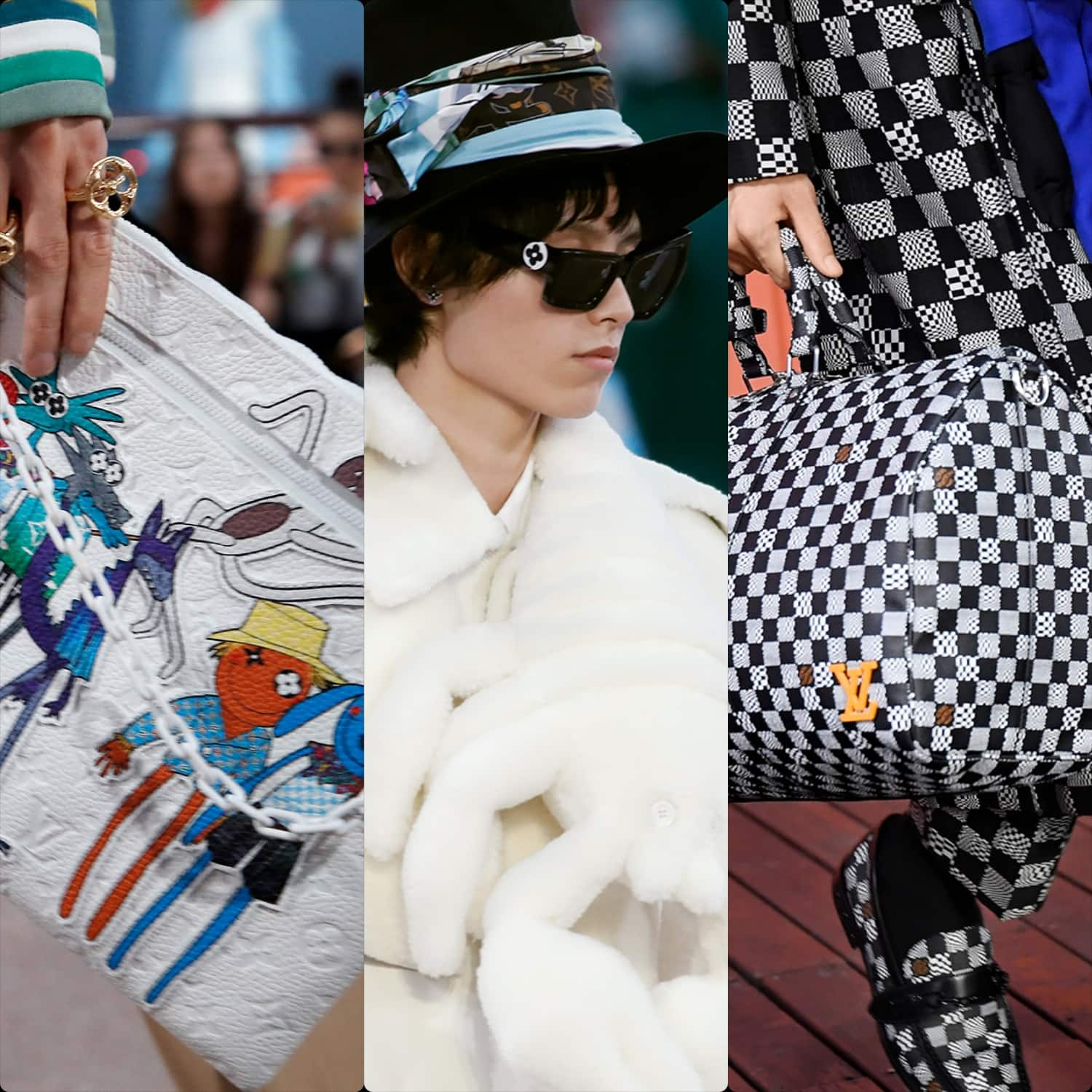 Louis Vuitton Menswear Spring Summer 2021 by RUNWAY MAGAZINE