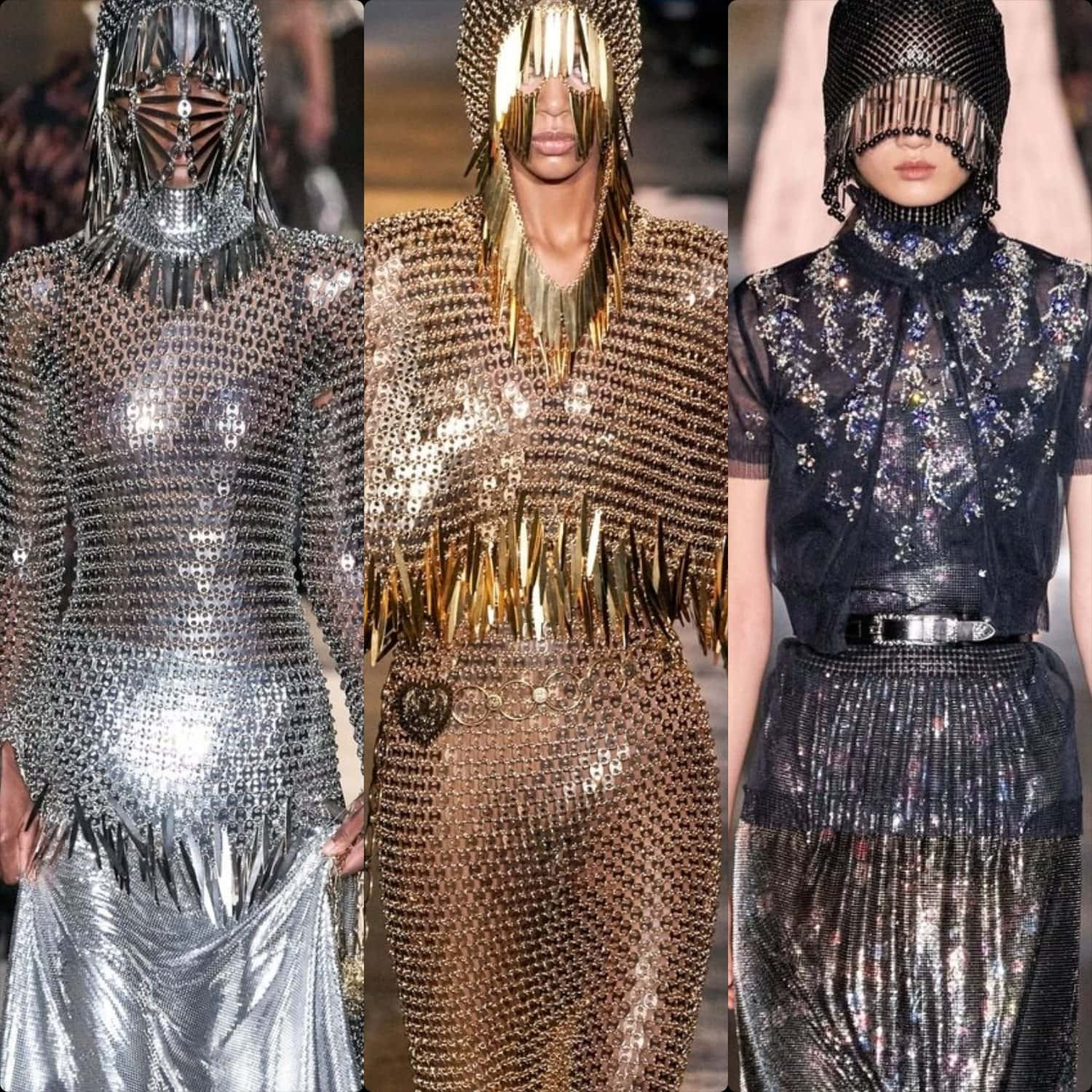 Paco Rabanne Fall-Winter 2020-2021 Paris. RUNWAY MAGAZINE ® Collections. RUNWAY NOW / RUNWAY NEW