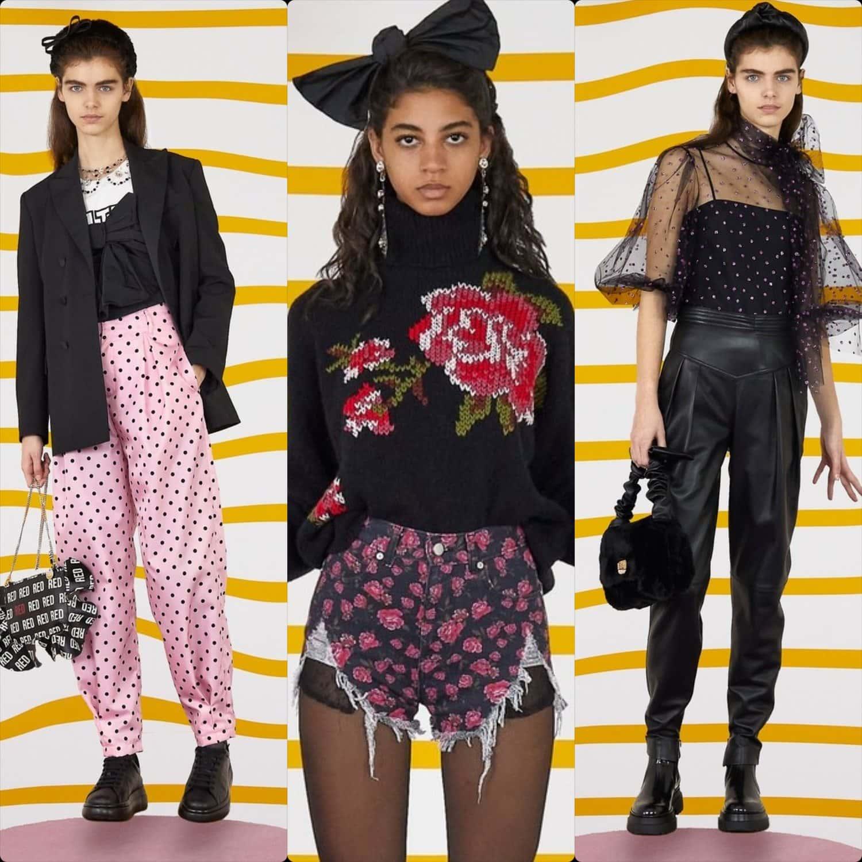 Red Valentino Fall-Winter 2020-2021 New York. RUNWAY MAGAZINE ® Collections. RUNWAY NOW / RUNWAY NEW
