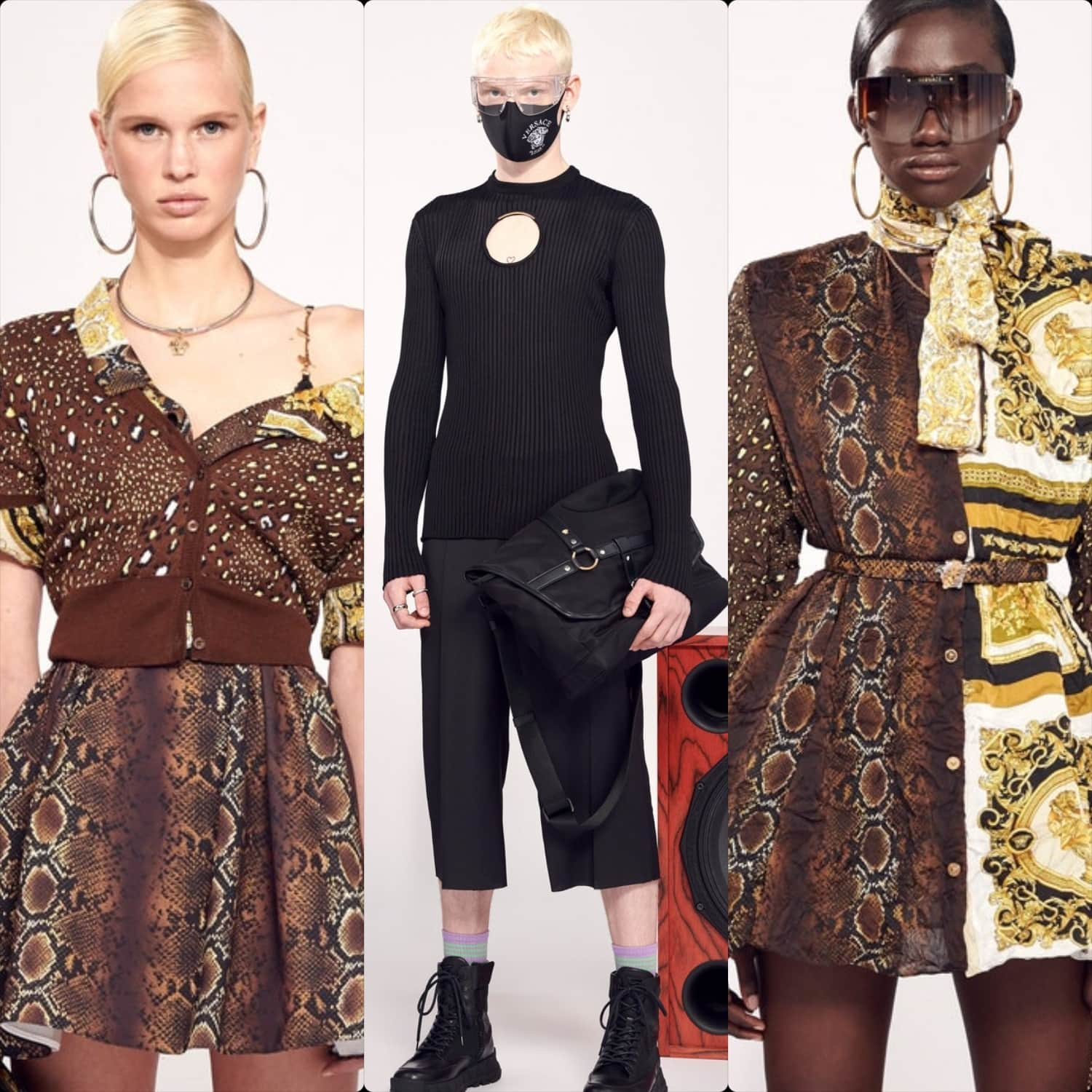 Versace Cruise 2021 Resort Spring Summer 2021. RUNWAY MAGAZINE ® Collections. RUNWAY NOW / RUNWAY NEW
