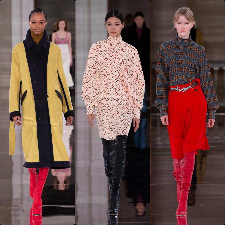 Victoria Beckham Fall-Winter 2020-2021 London. RUNWAY MAGAZINE ® Collections. RUNWAY NOW / RUNWAY NEW