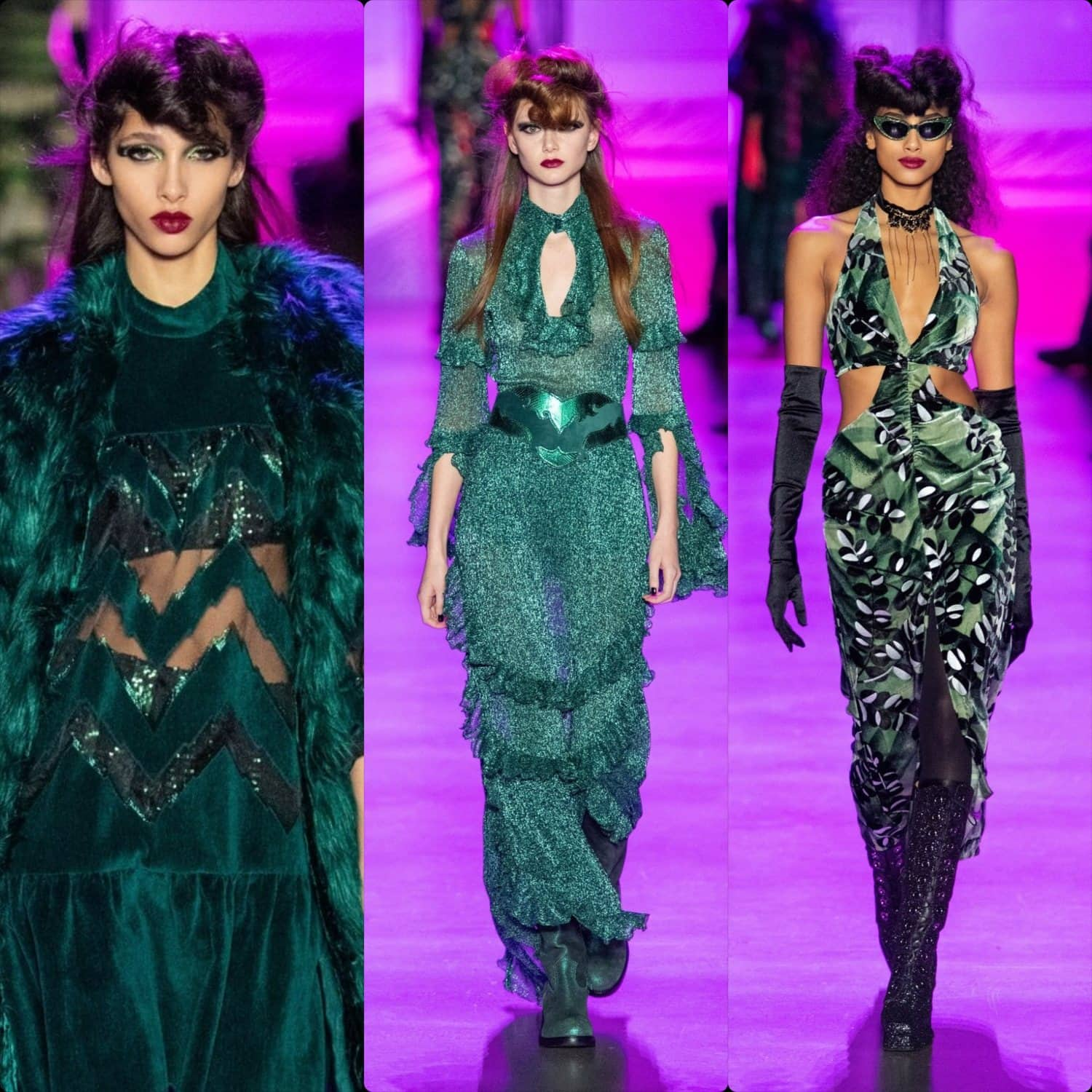 Anna Sui Fall-Winter 2020-2021 New York. RUNWAY MAGAZINE ® Collections. RUNWAY NOW / RUNWAY NEW