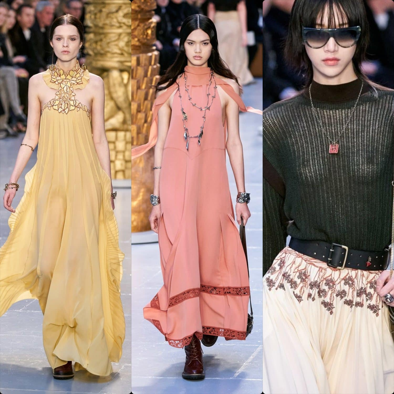 Chloe Fall-Winter 2020-2021 Paris. RUNWAY MAGAZINE ® Collections. RUNWAY NOW / RUNWAY NEW